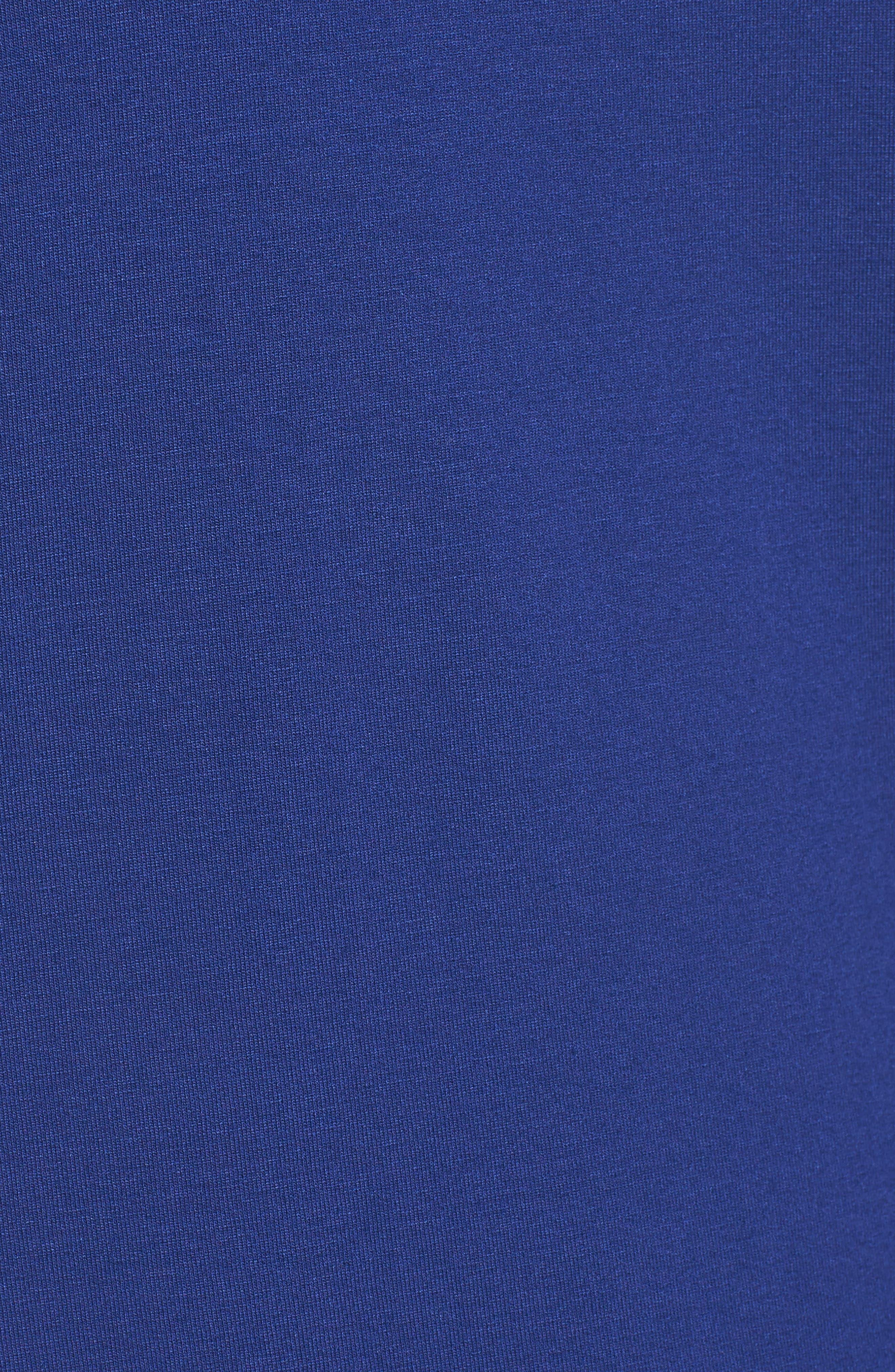 Alternate Image 5  - Eileen Fisher Scrunch Neck Jersey Top (Regular & Petite)