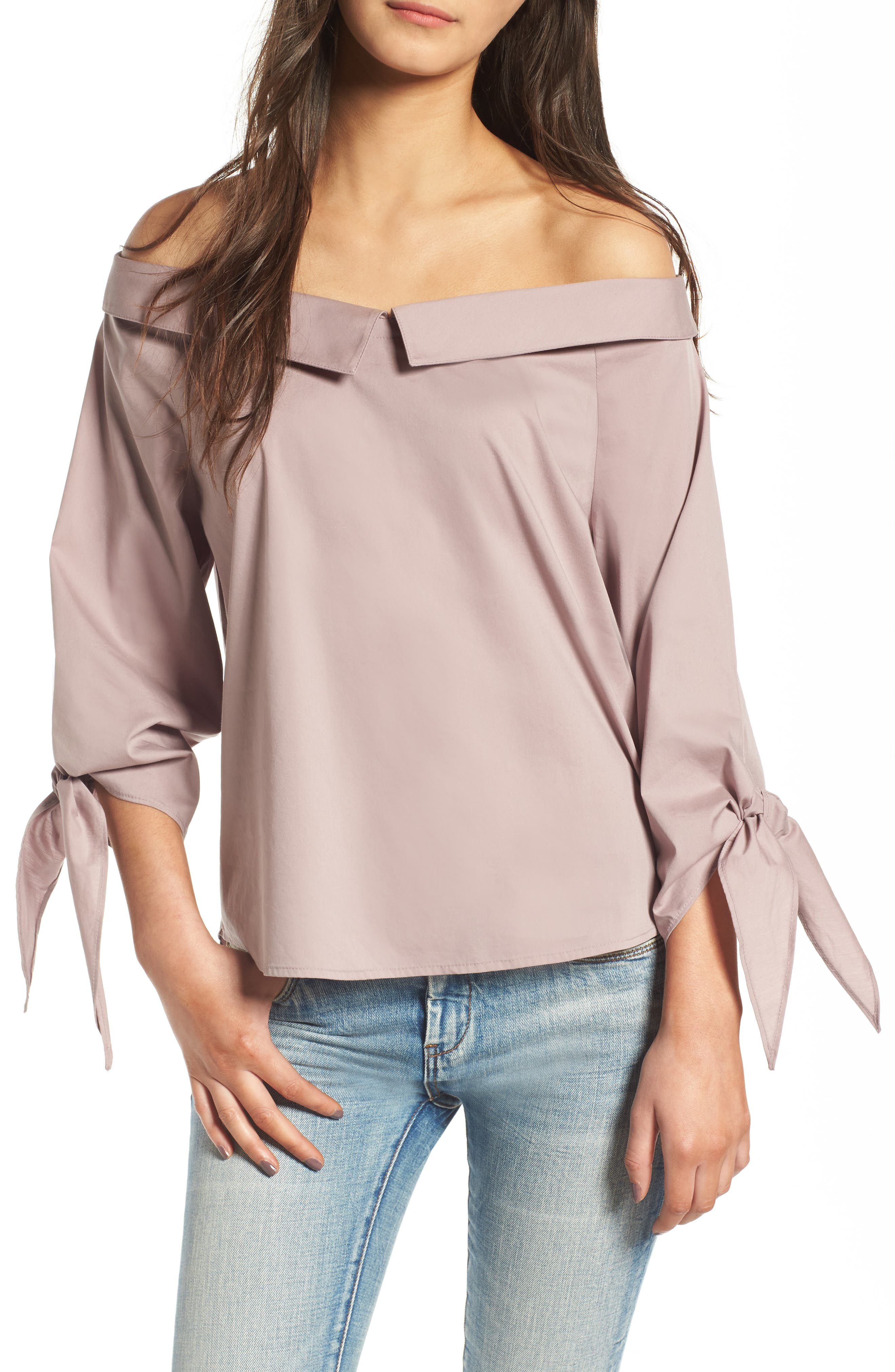 Leith Off the Shoulder Blouse