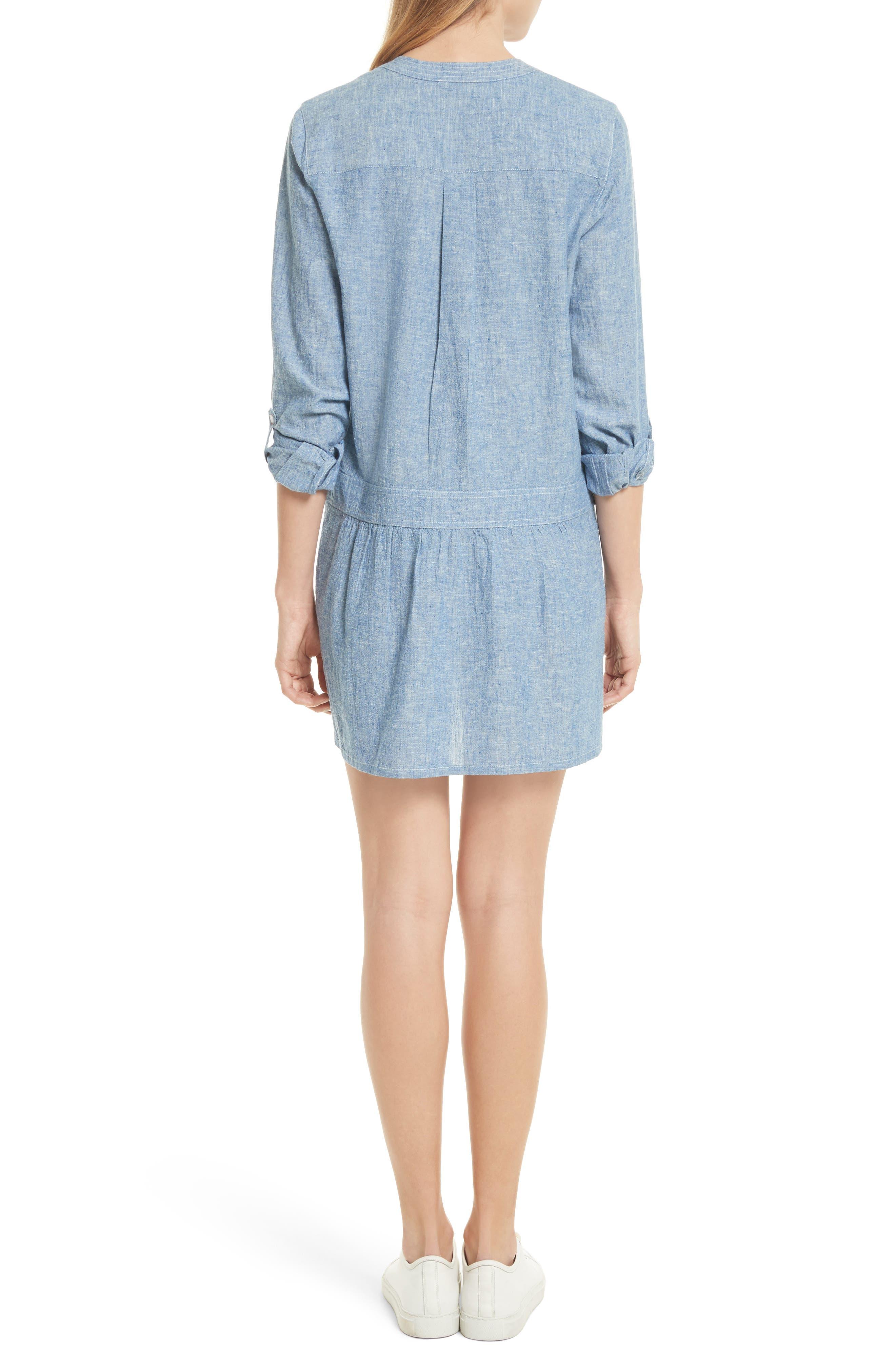 Alternate Image 2  - Soft Joie Amiri Chambray Shirtdress