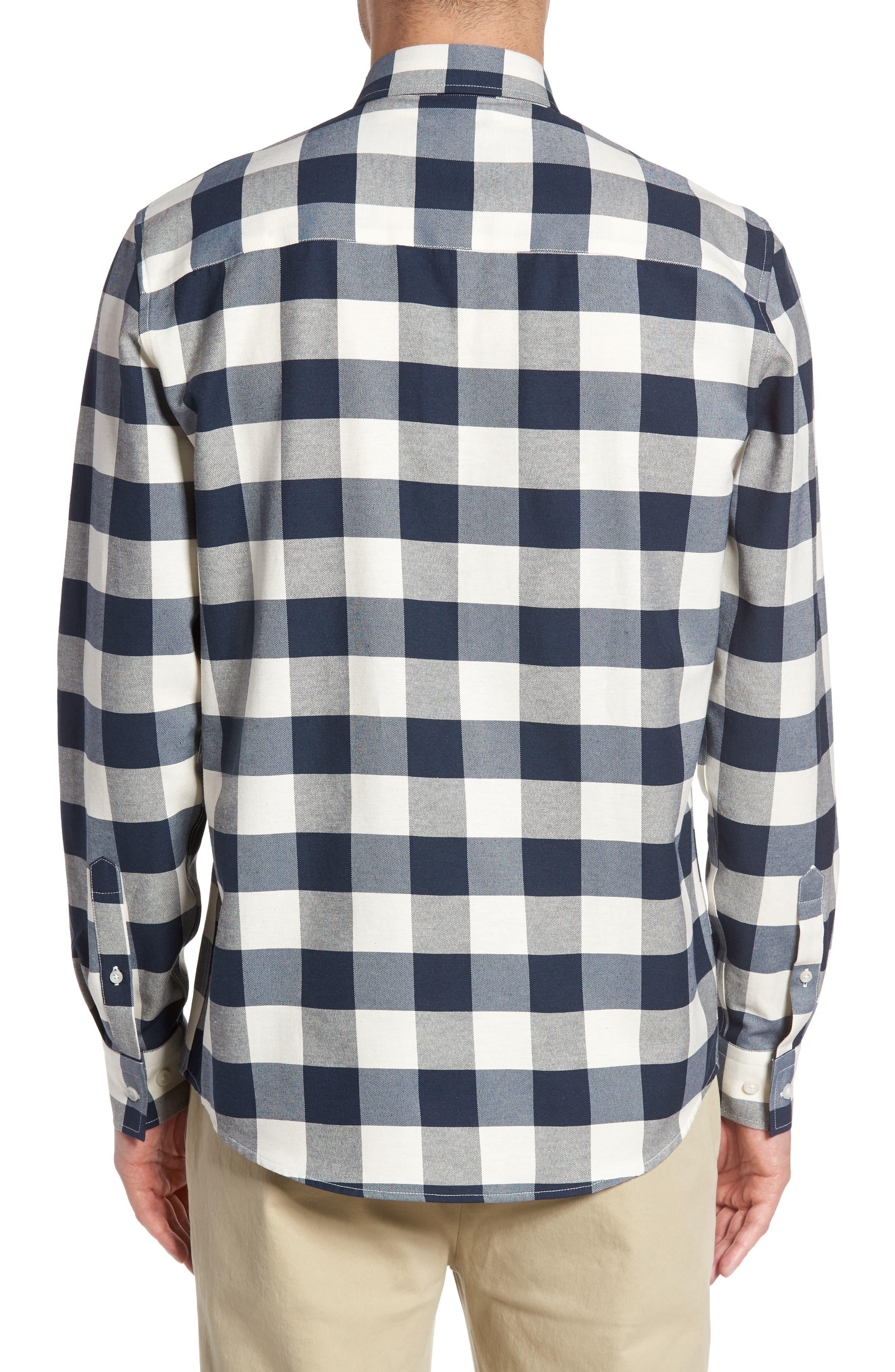 Alternate Image 2  - Topman Check Twill Shirt