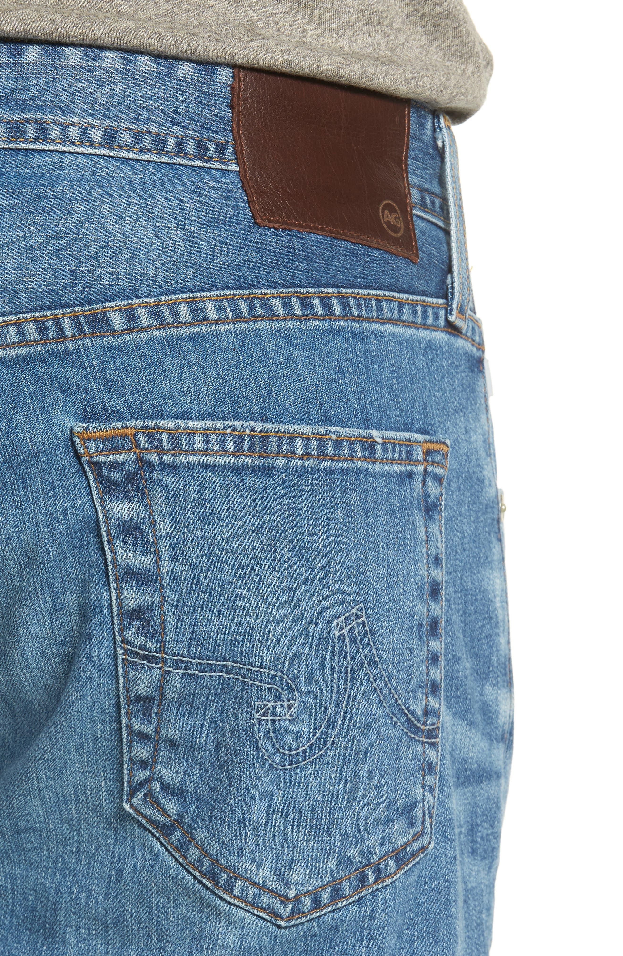Ives Straight Leg Jeans,                             Alternate thumbnail 4, color,                             16 Years Broken Ground
