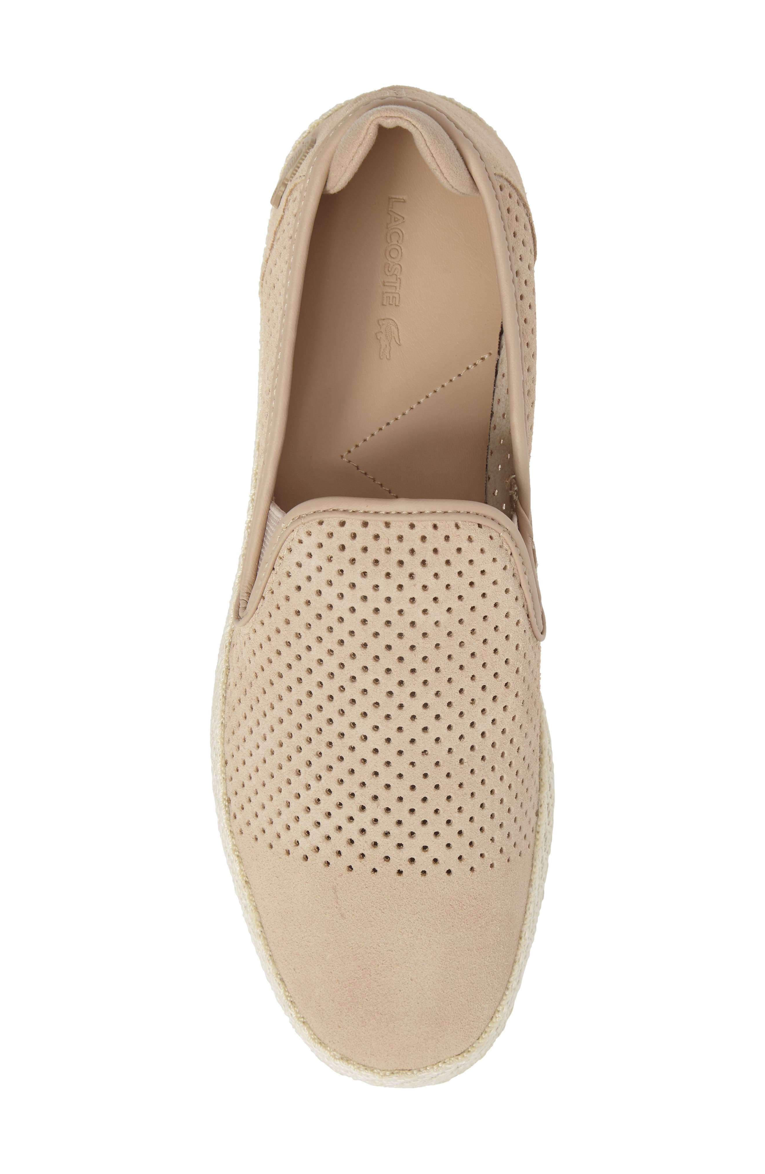 Tombre Slip-On,                             Alternate thumbnail 5, color,                             Natural Suede
