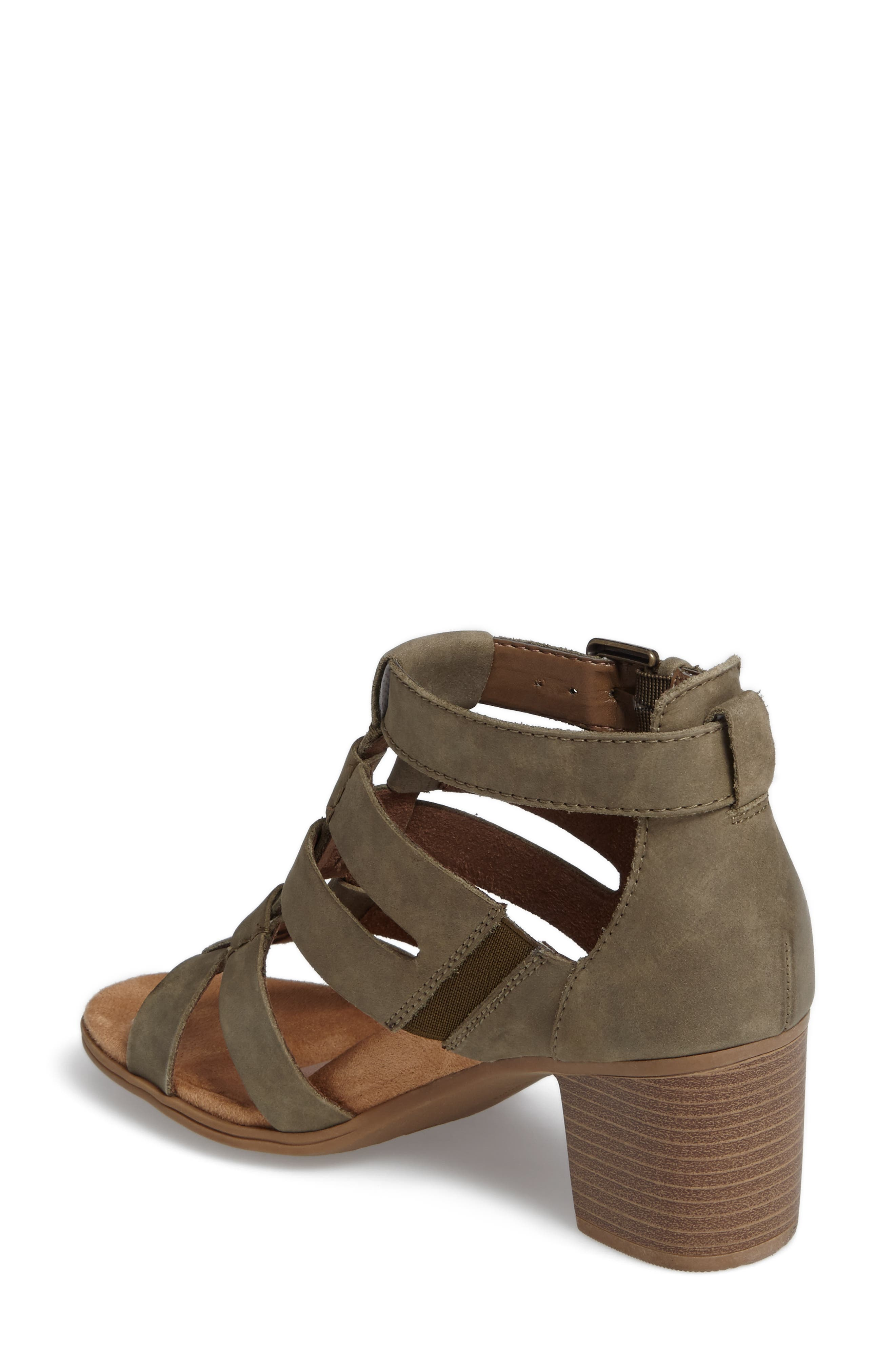 Alternate Image 2  - Rockport Cobb Hill Hattie Block Heel Gladiator Sandal (Women)