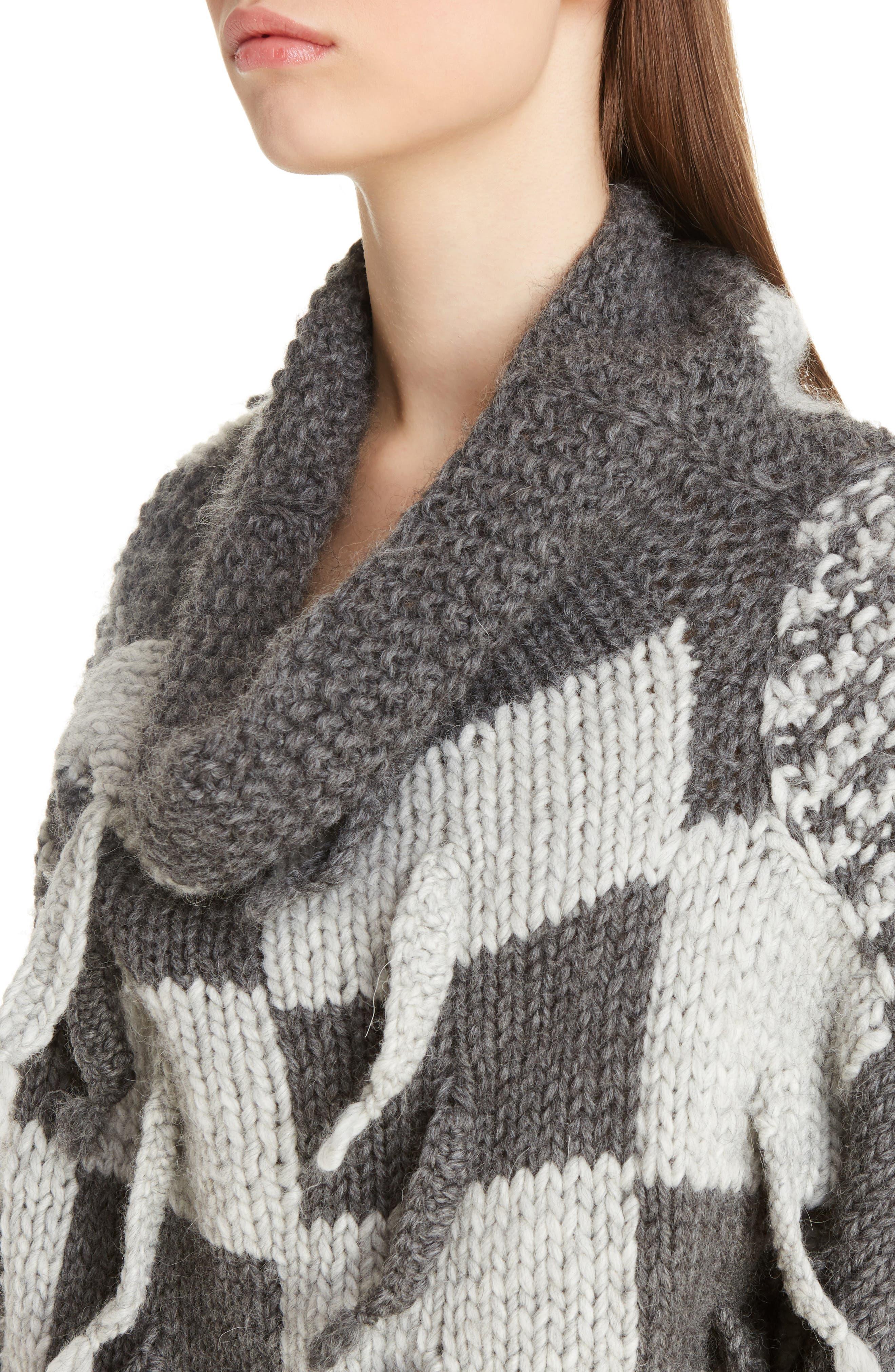 Alternate Image 5  - Loewe Chunky Knit Wool & Alpaca Sweater