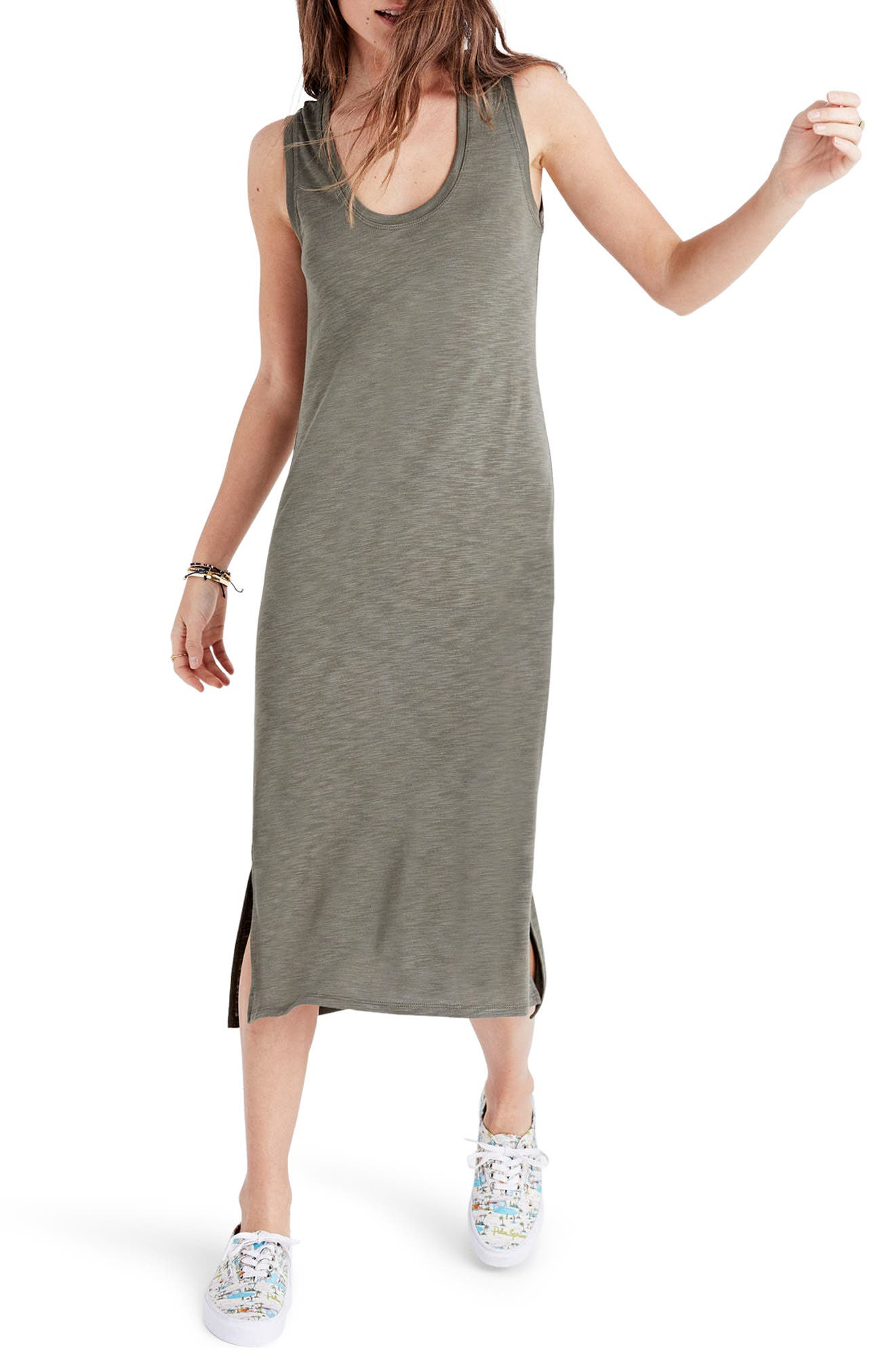 Alternate Image 1 Selected - Madewell Jersey Tank Dress