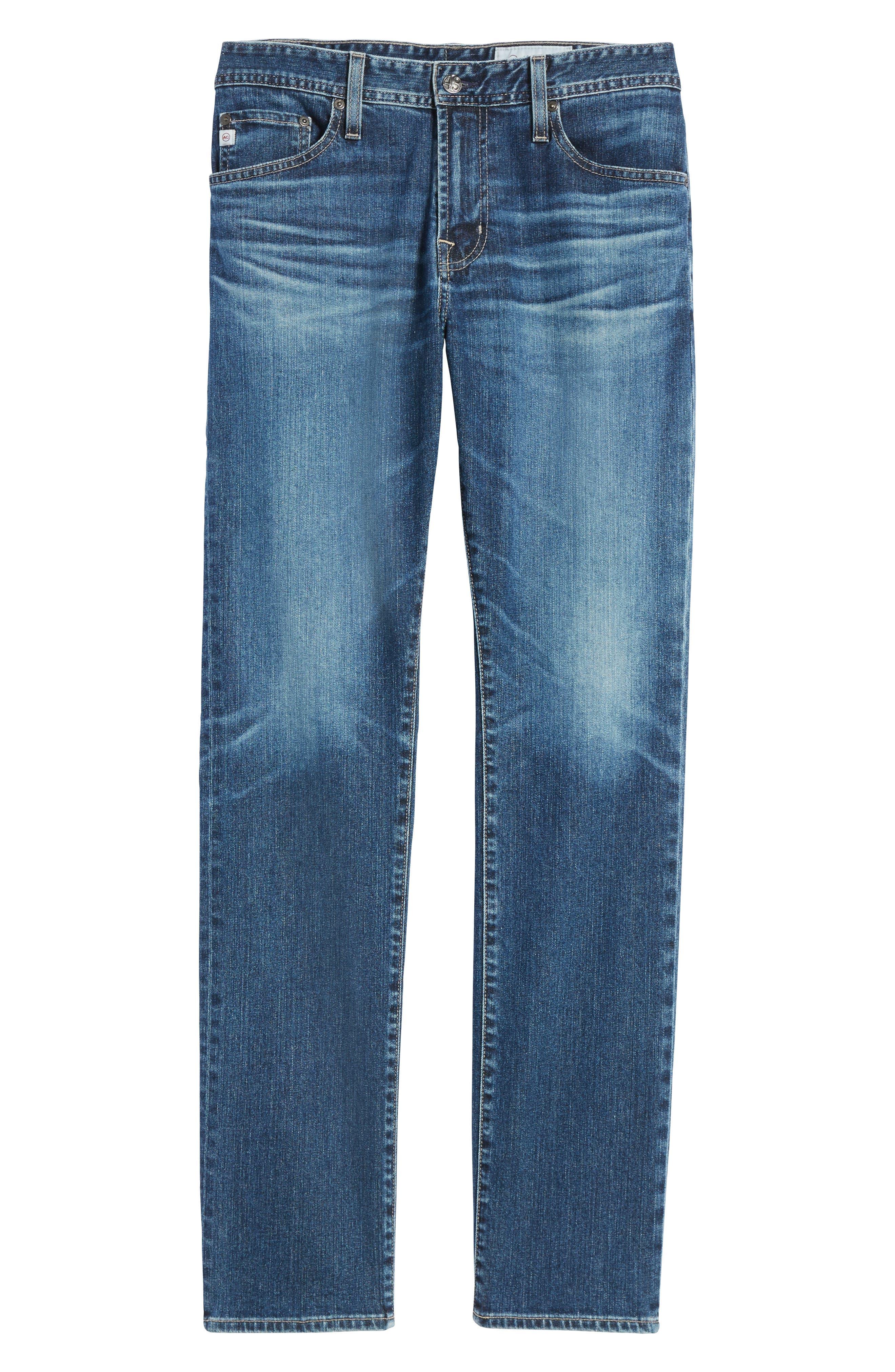 Alternate Image 6  - AG Everett Slim Straight Leg Jeans (13 Years Stasis)