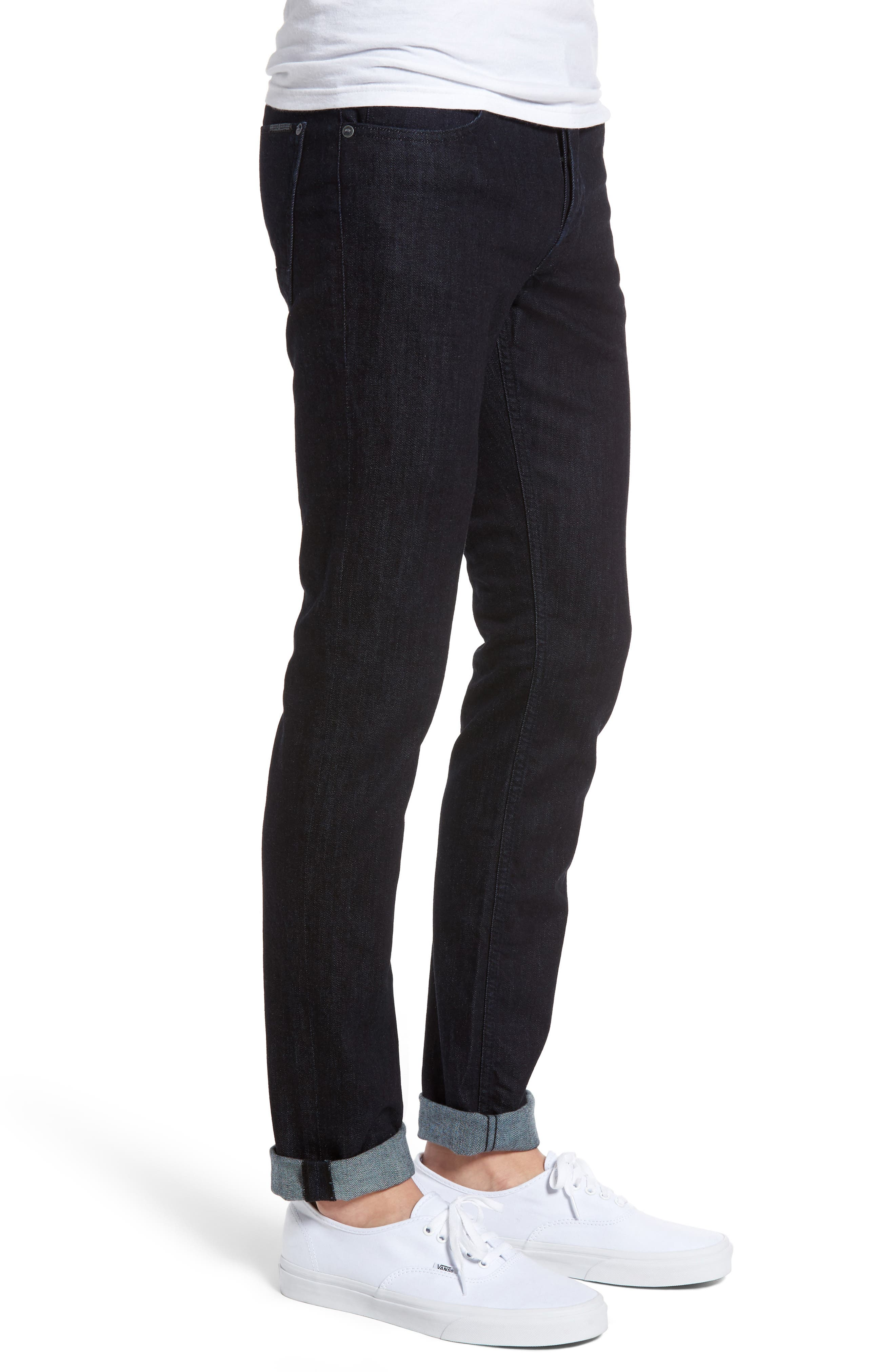 Alternate Image 3  - Hudson Jeans Axl Skinny Fit Jeans (Firestone)