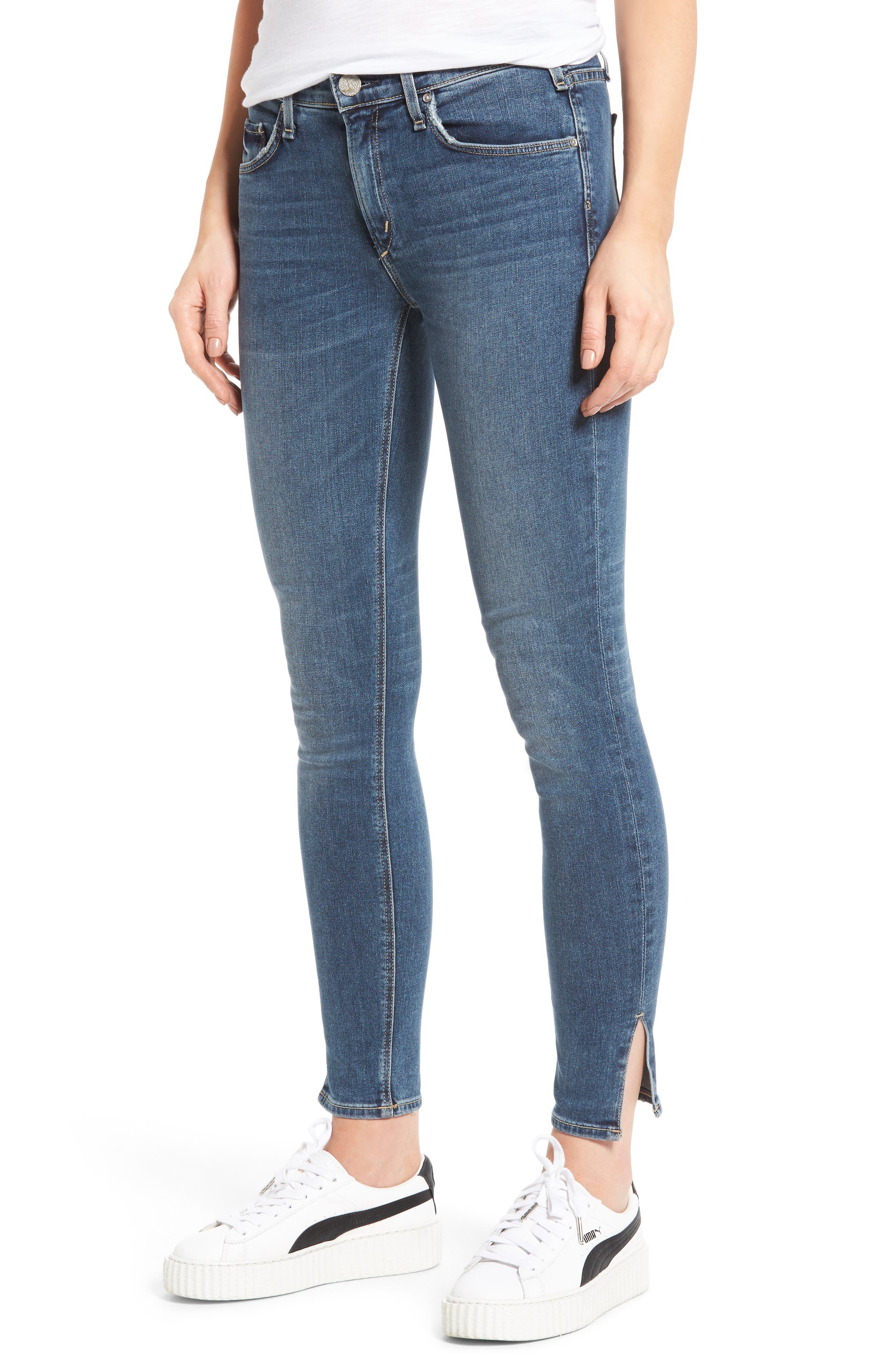 McGuire Side Slit Newton Skinny Jeans (Tropicana)