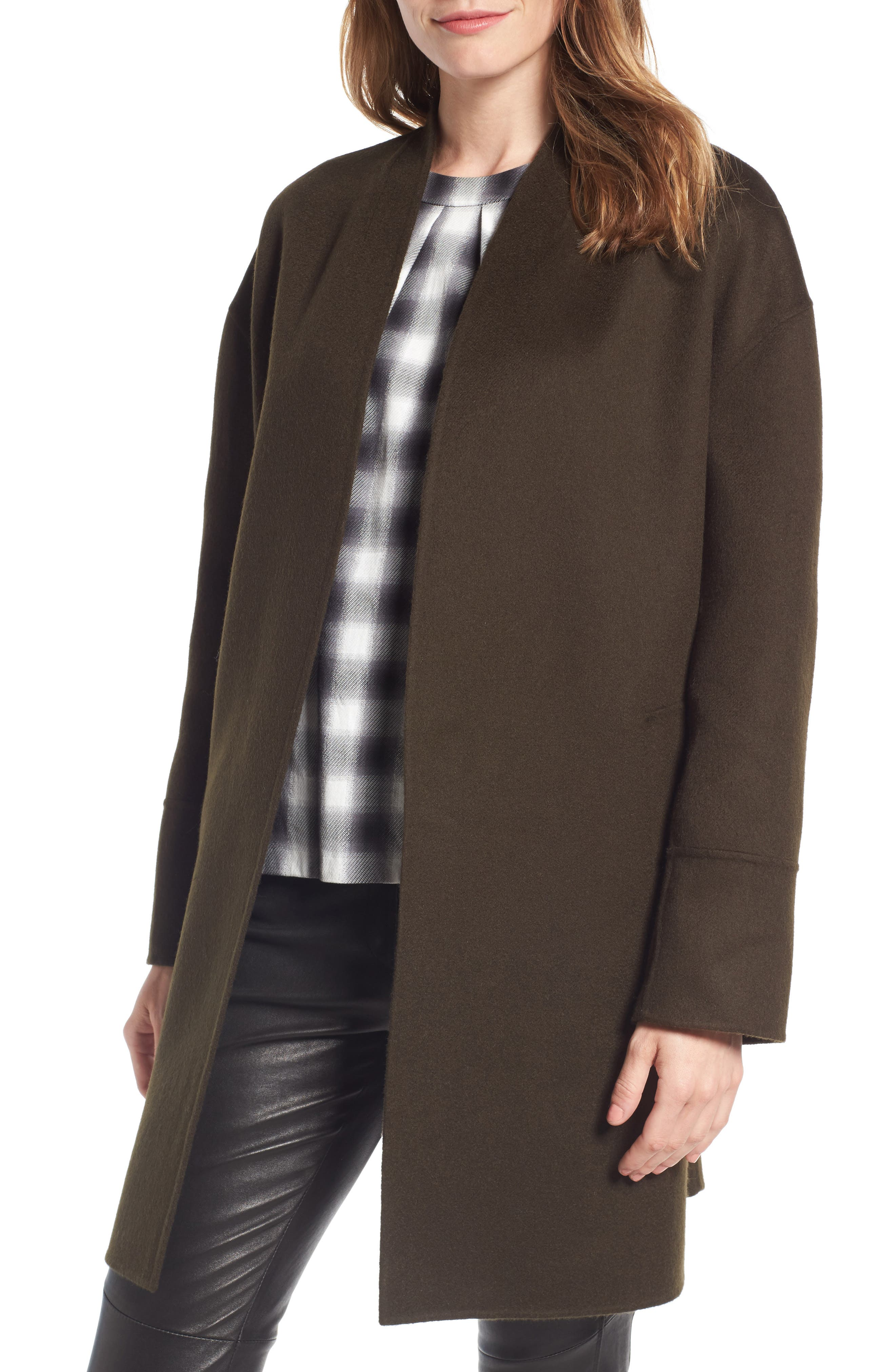 Nordstrom Signature Double Face Wool & Cashmere Jacket