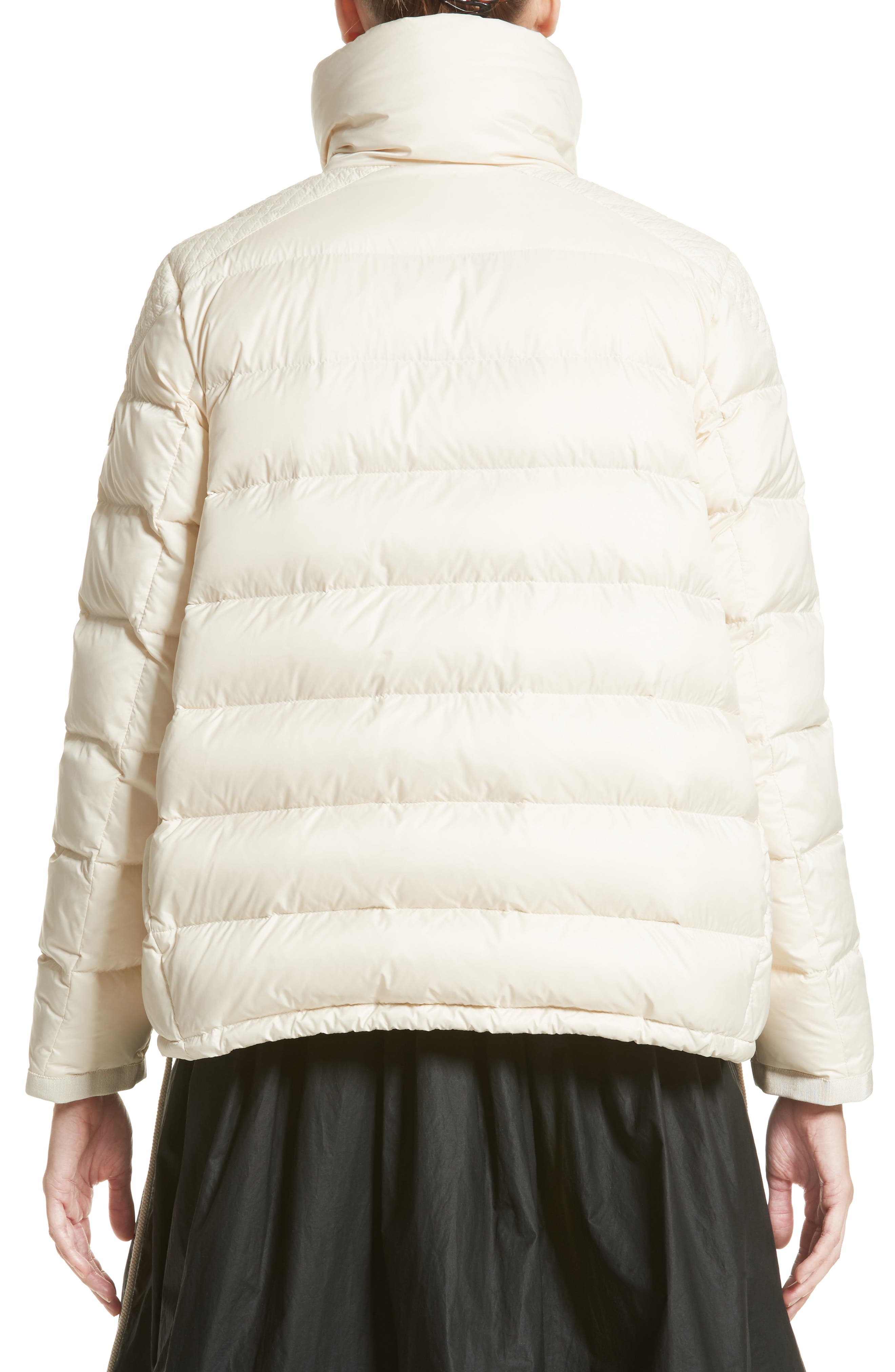 Margaret Down Puffer Jacket,                             Alternate thumbnail 2, color,                             Cream