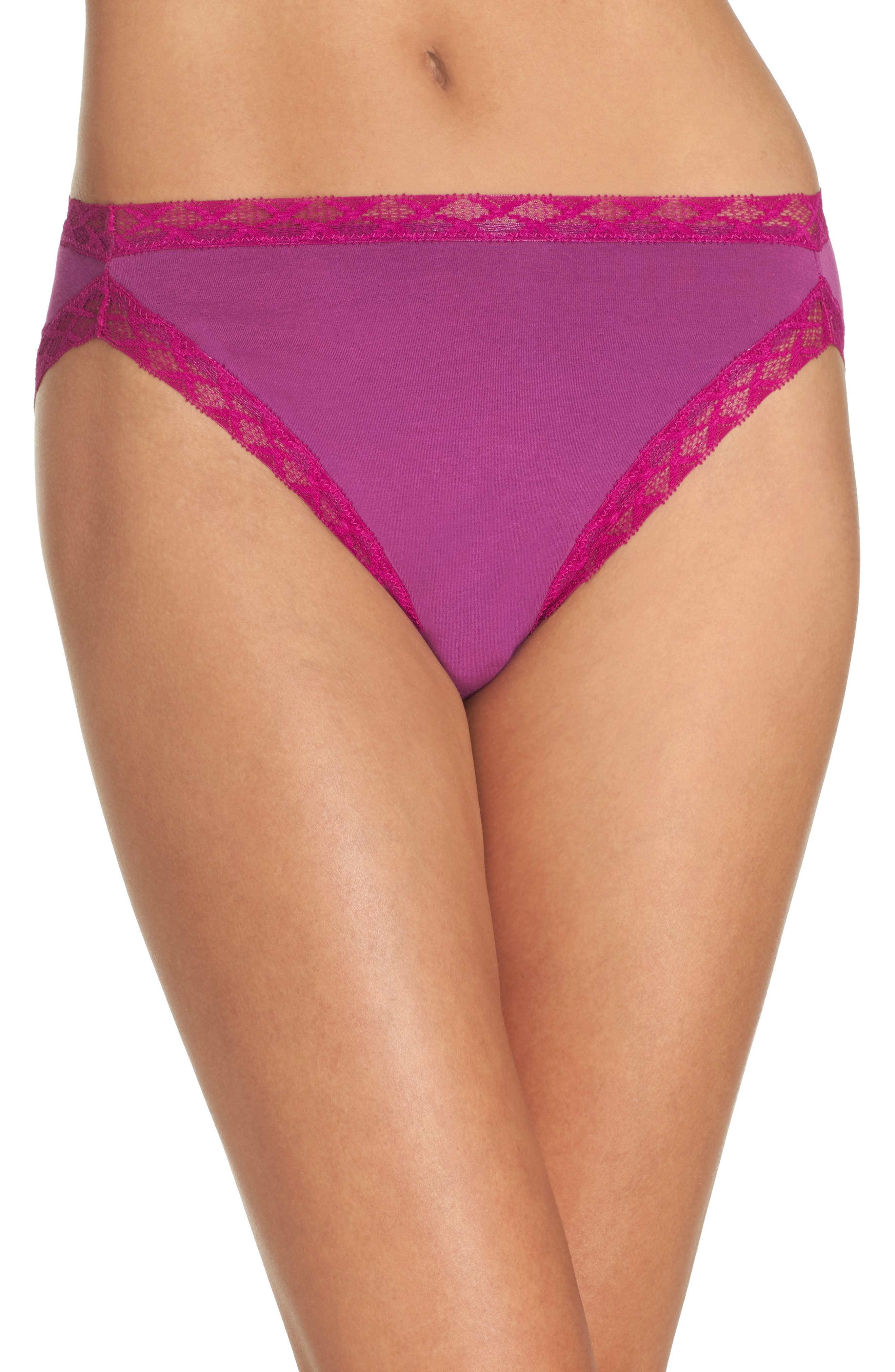 Bliss French Cut Briefs,                         Main,                         color, Boysenberry