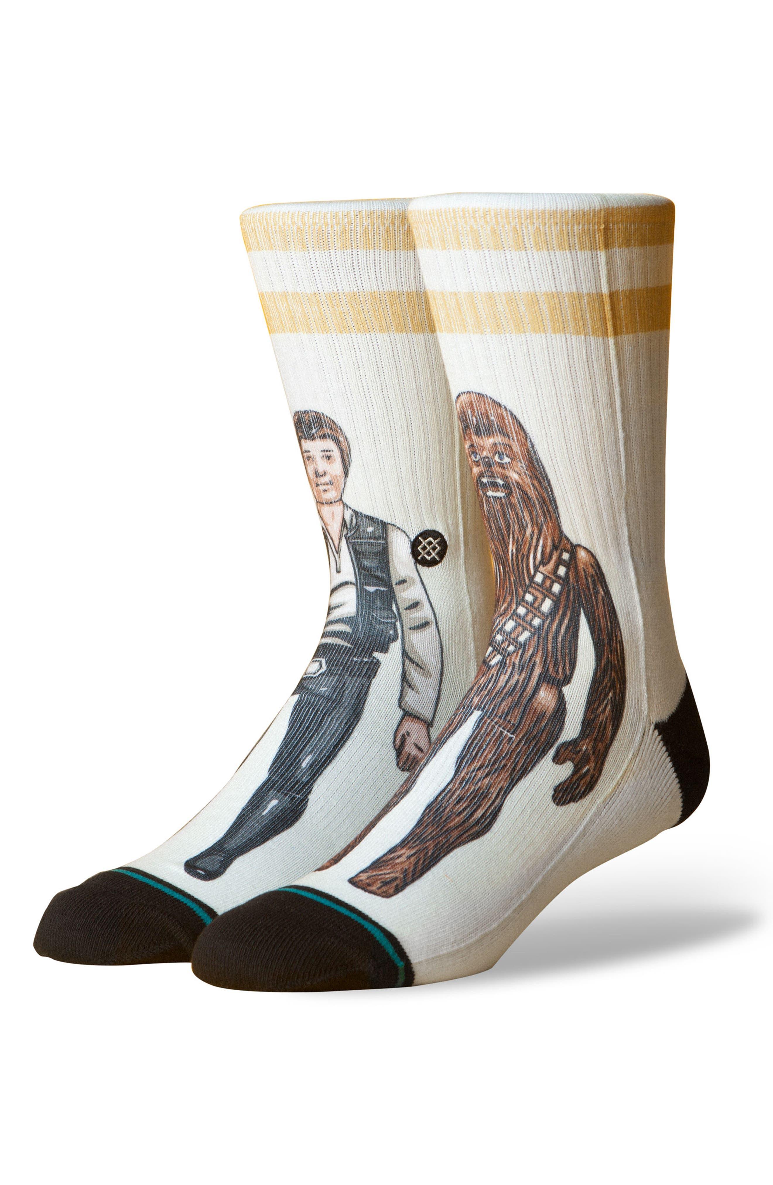Star Wars<sup>™</sup> Smuggler Trade Socks,                         Main,                         color, Off White