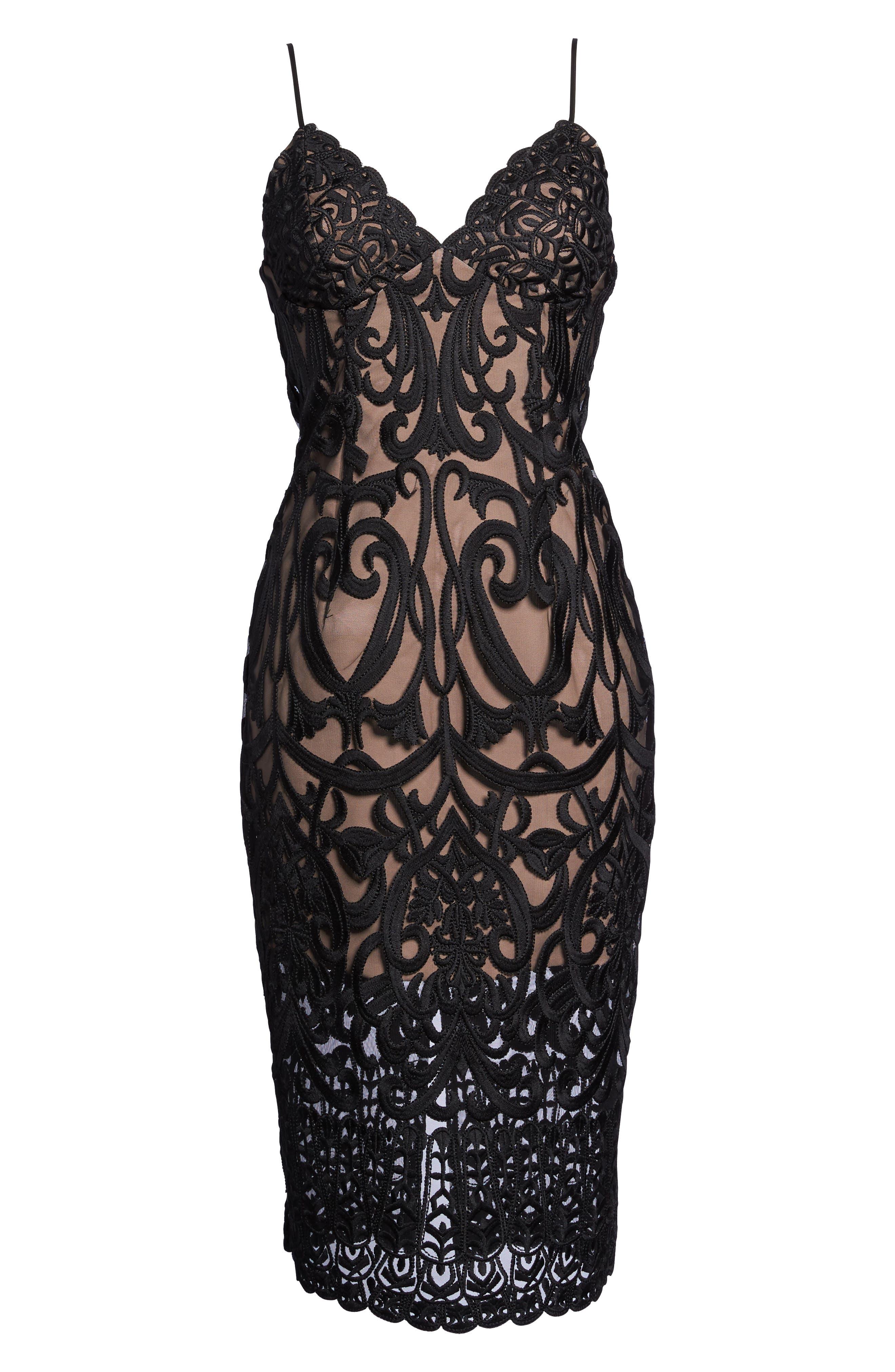 Alternate Image 6  - Bardot Gia Lace Pencil Dress