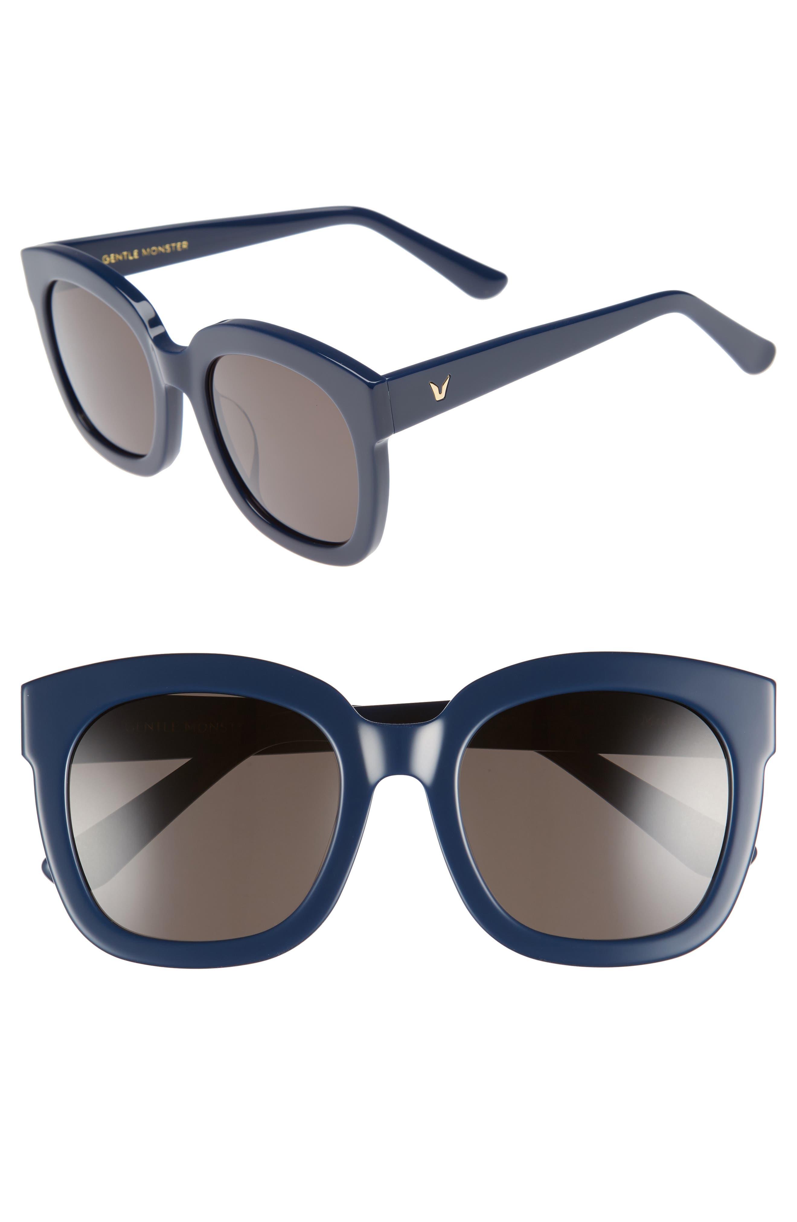 Gentle Monster Matti 51mm Rounded Sunglasses