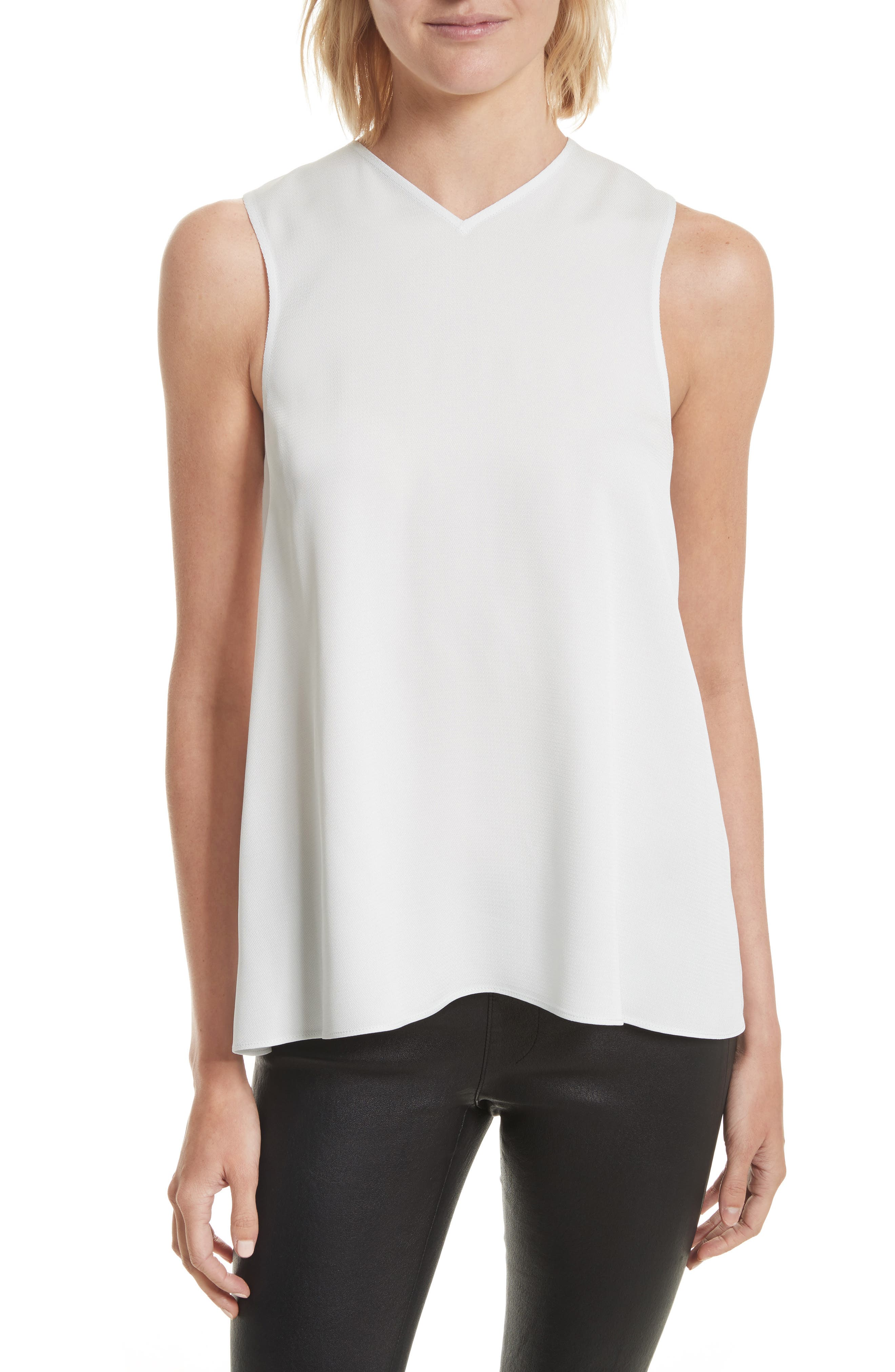 Main Image - Helmut Lang Knotted Back Tank