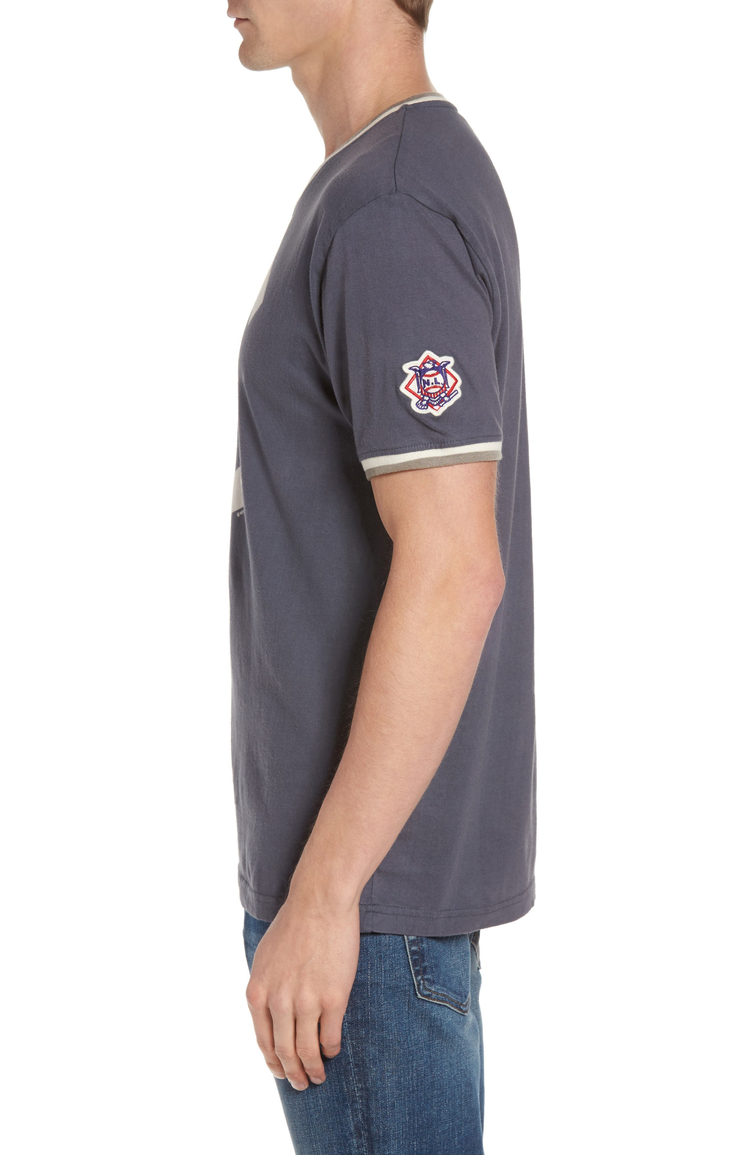 Alternate Image 3  - American Needle Eastwood - Chicago Cubs V-Neck T-Shirt