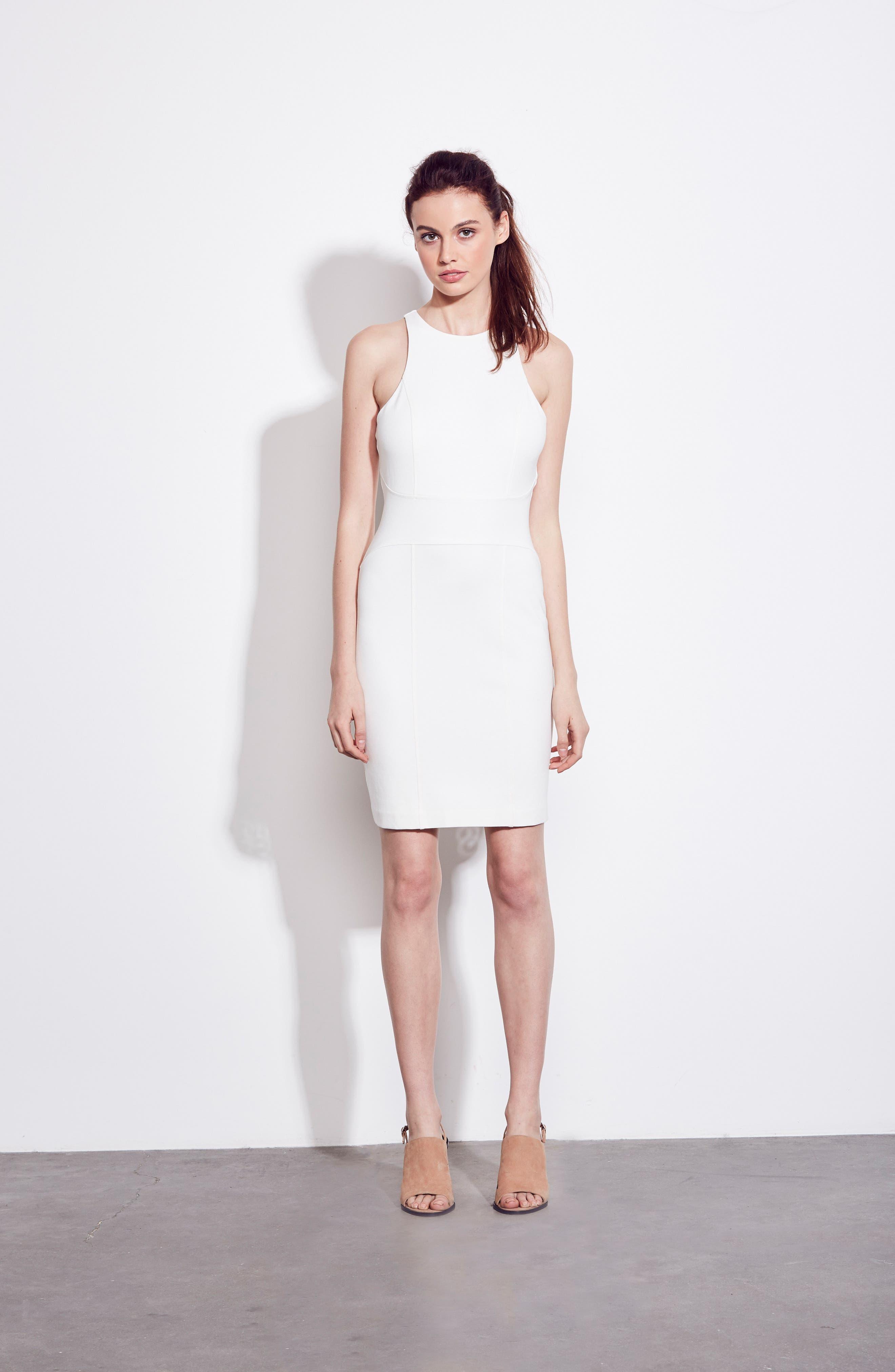 You Ruin Me Body-Con Dress,                             Alternate thumbnail 2, color,                             White