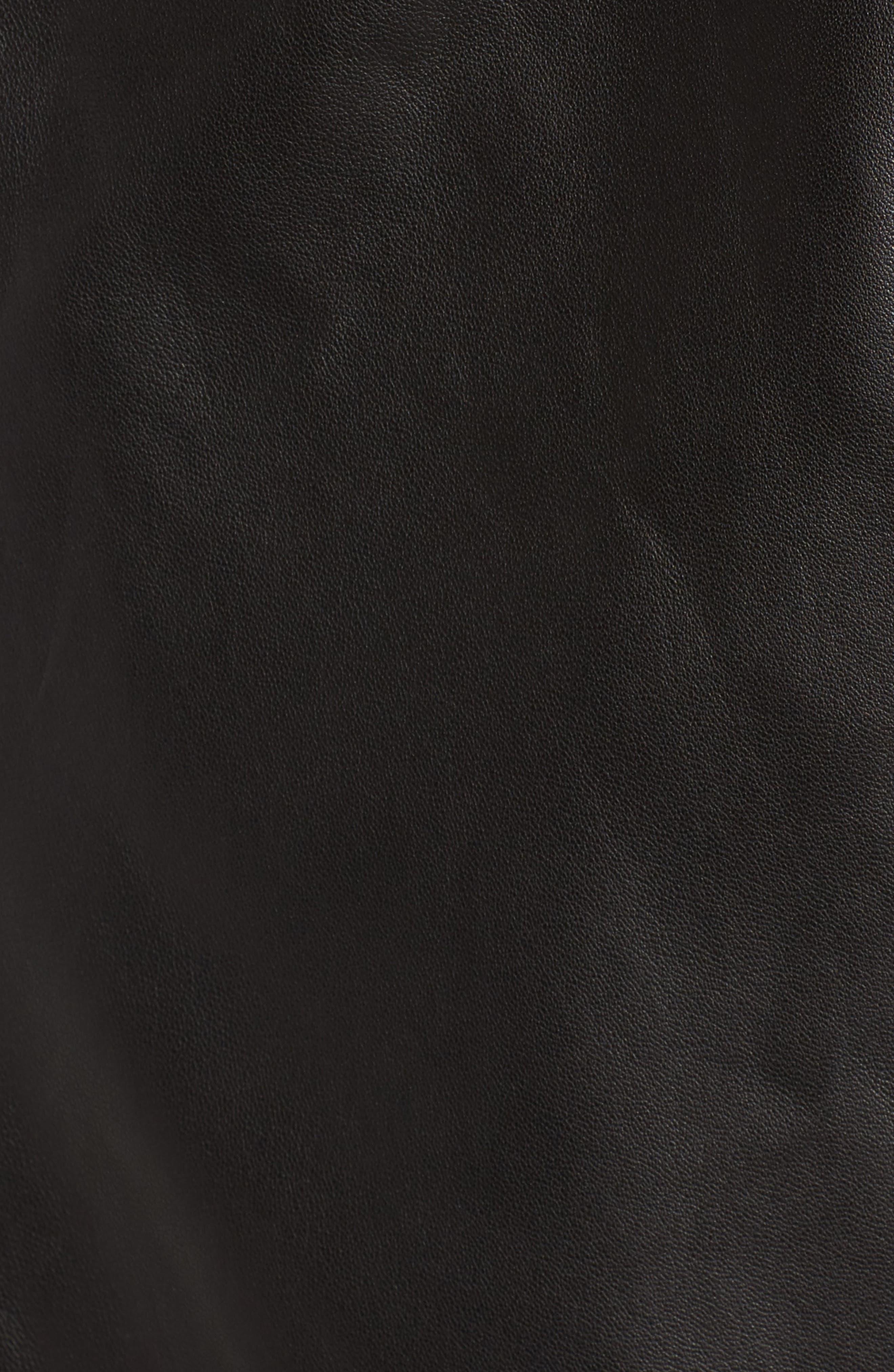 Alternate Image 6  - Trouvé Raw Edge Leather Jacket
