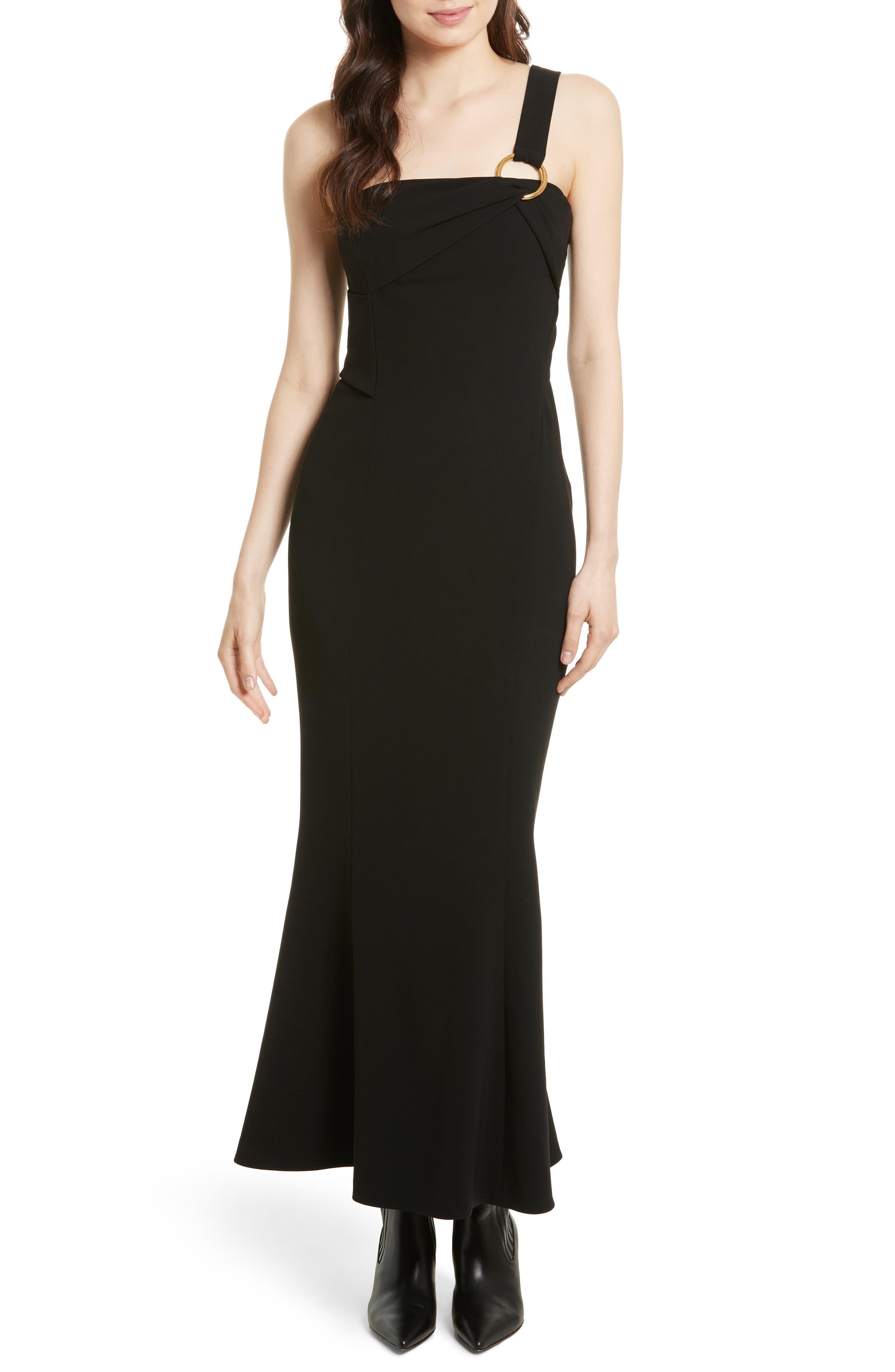 Diane von Furstenberg One-Shoulder Gown