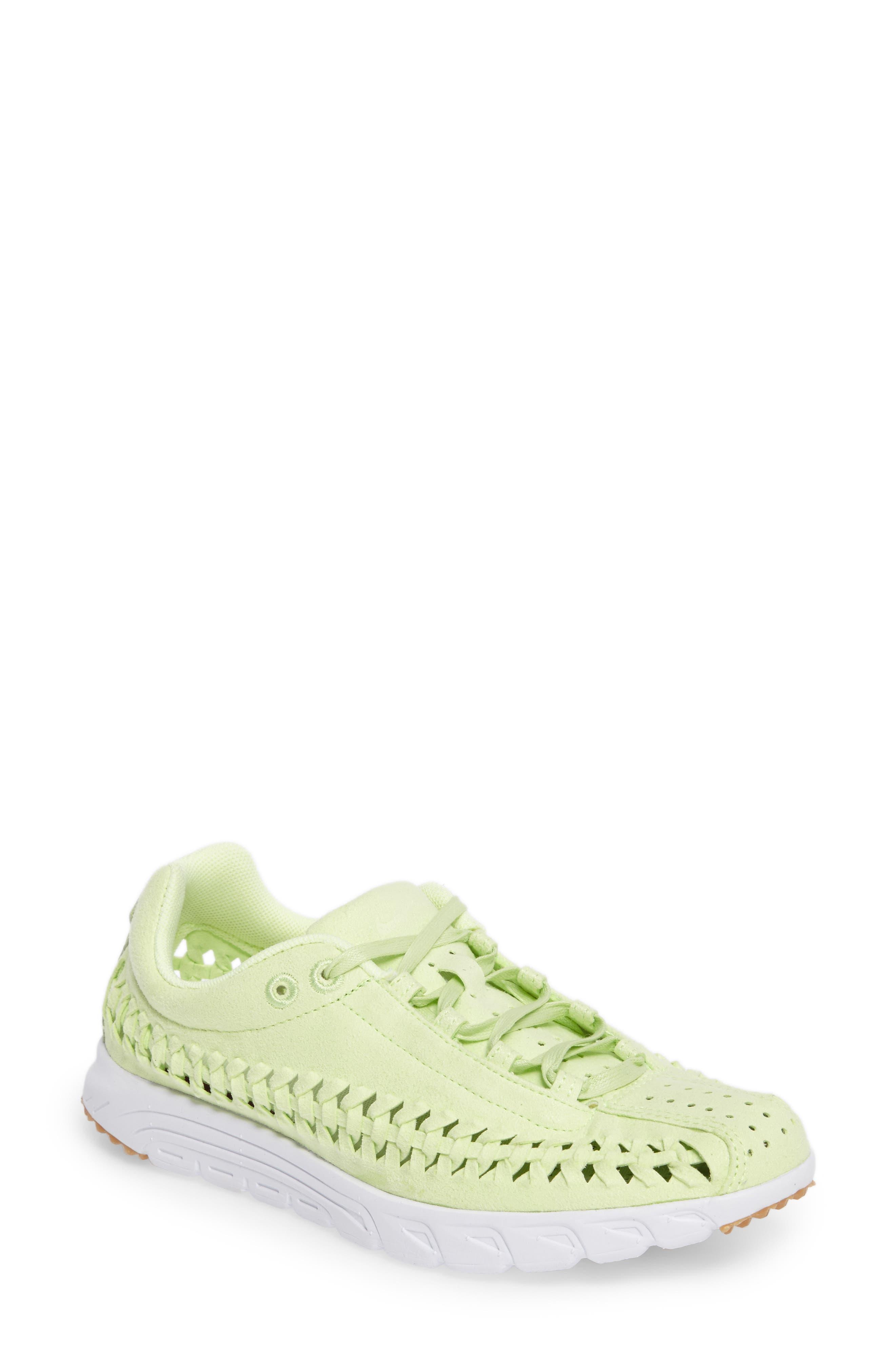 Mayfly Woven QS Sneaker,                             Main thumbnail 1, color,                             Liquid Lime/ Liquid Lime
