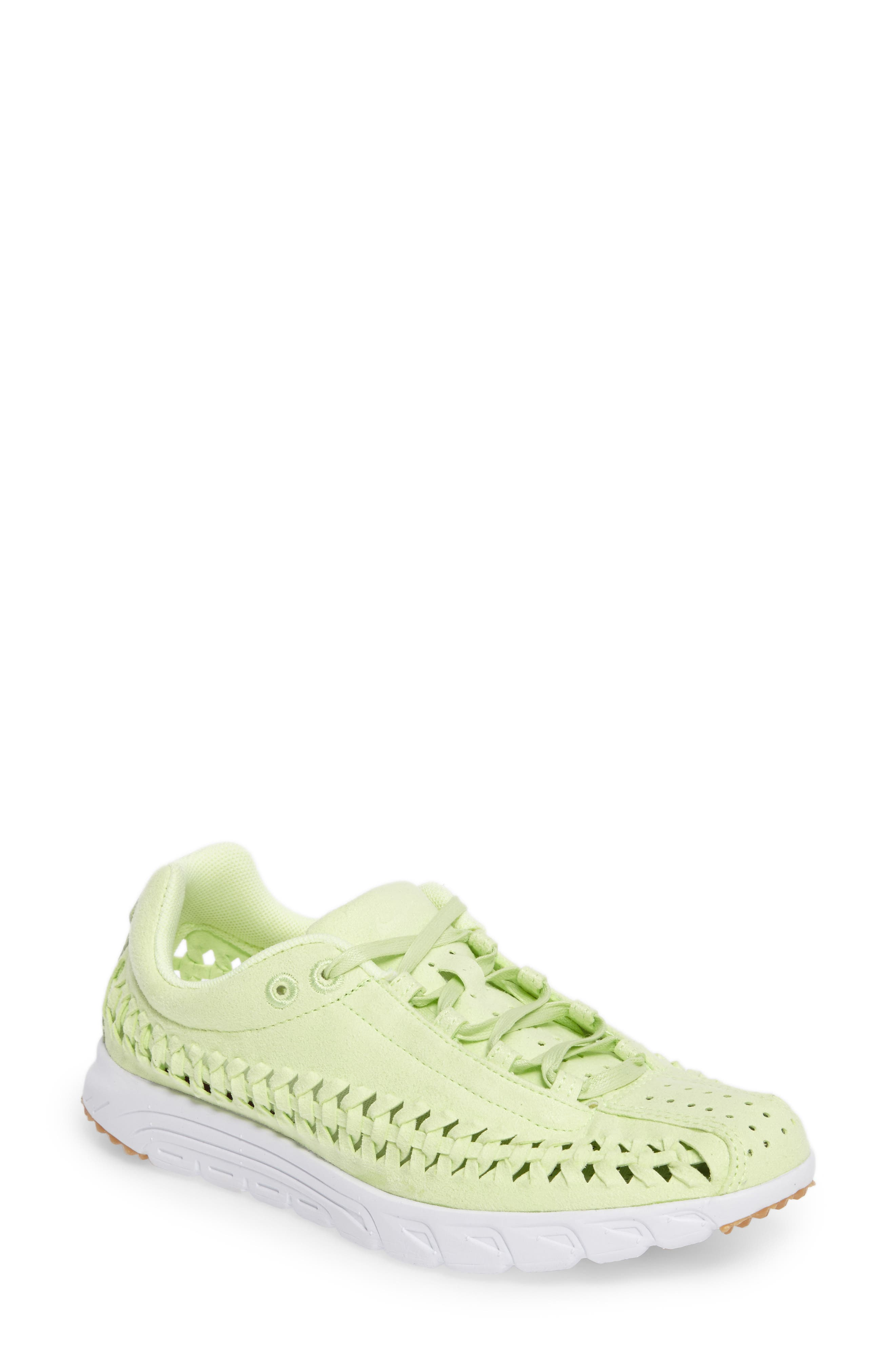 Mayfly Woven QS Sneaker,                         Main,                         color, Liquid Lime/ Liquid Lime