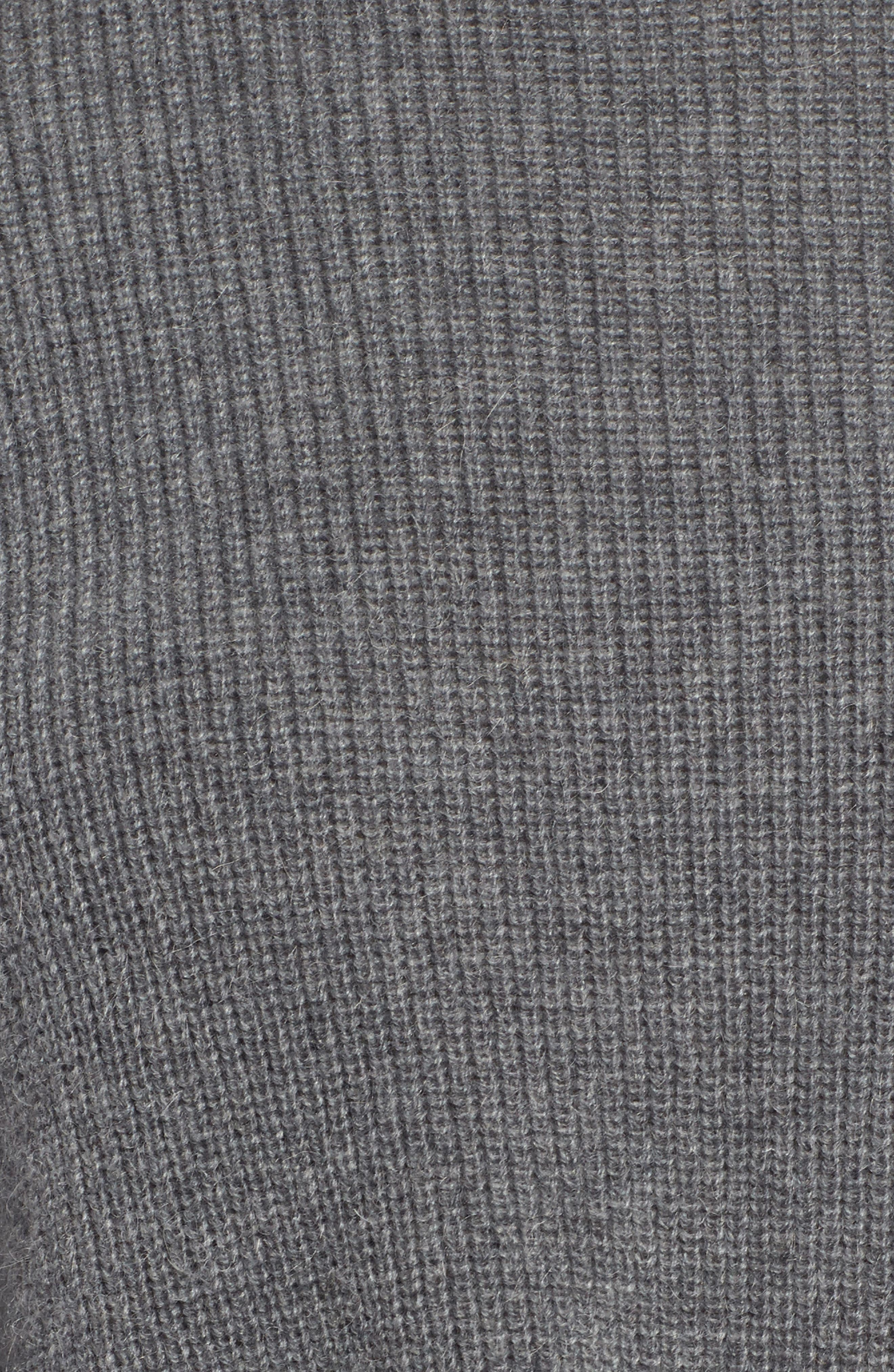 Alternate Image 6  - Halogen® Tie Hem Sweater (Regular & Petite)