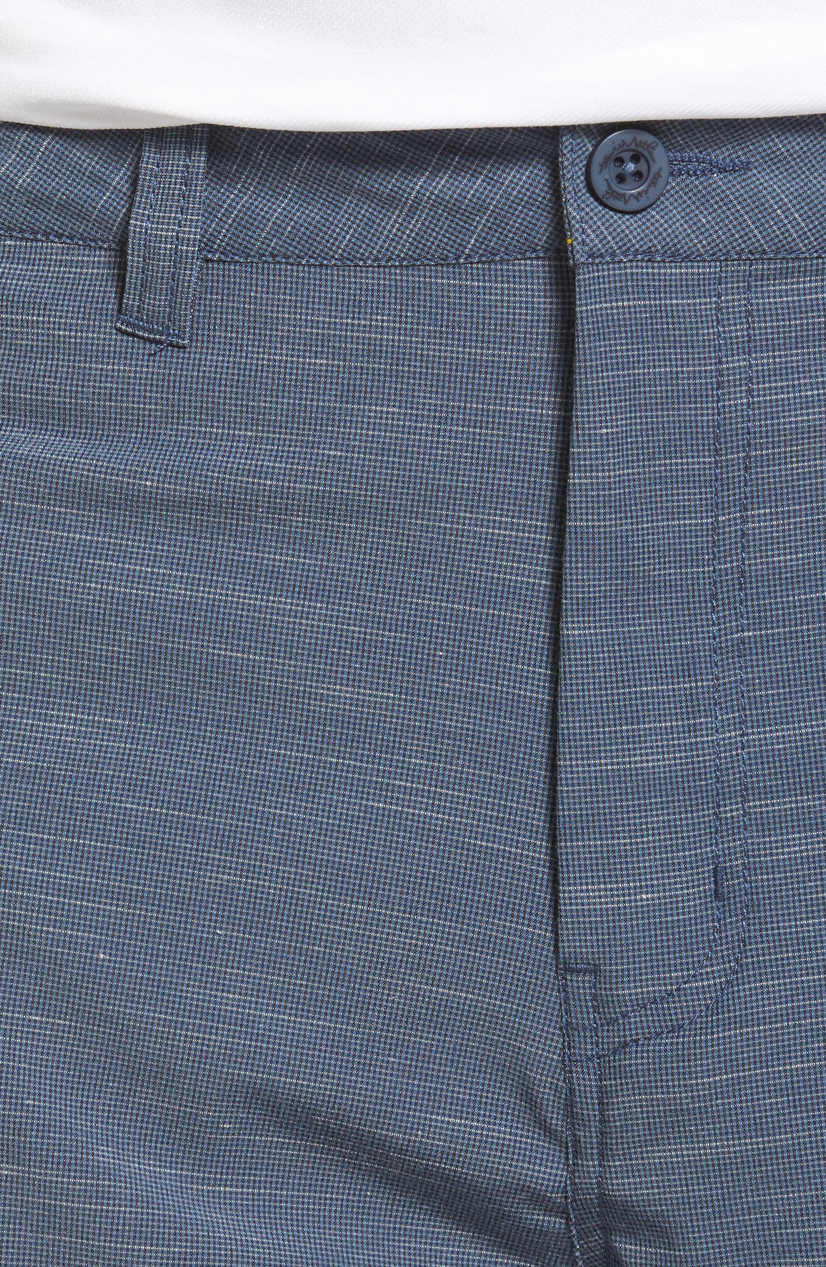 Fisher Shorts,                             Alternate thumbnail 4, color,                             Heather Blue Nights
