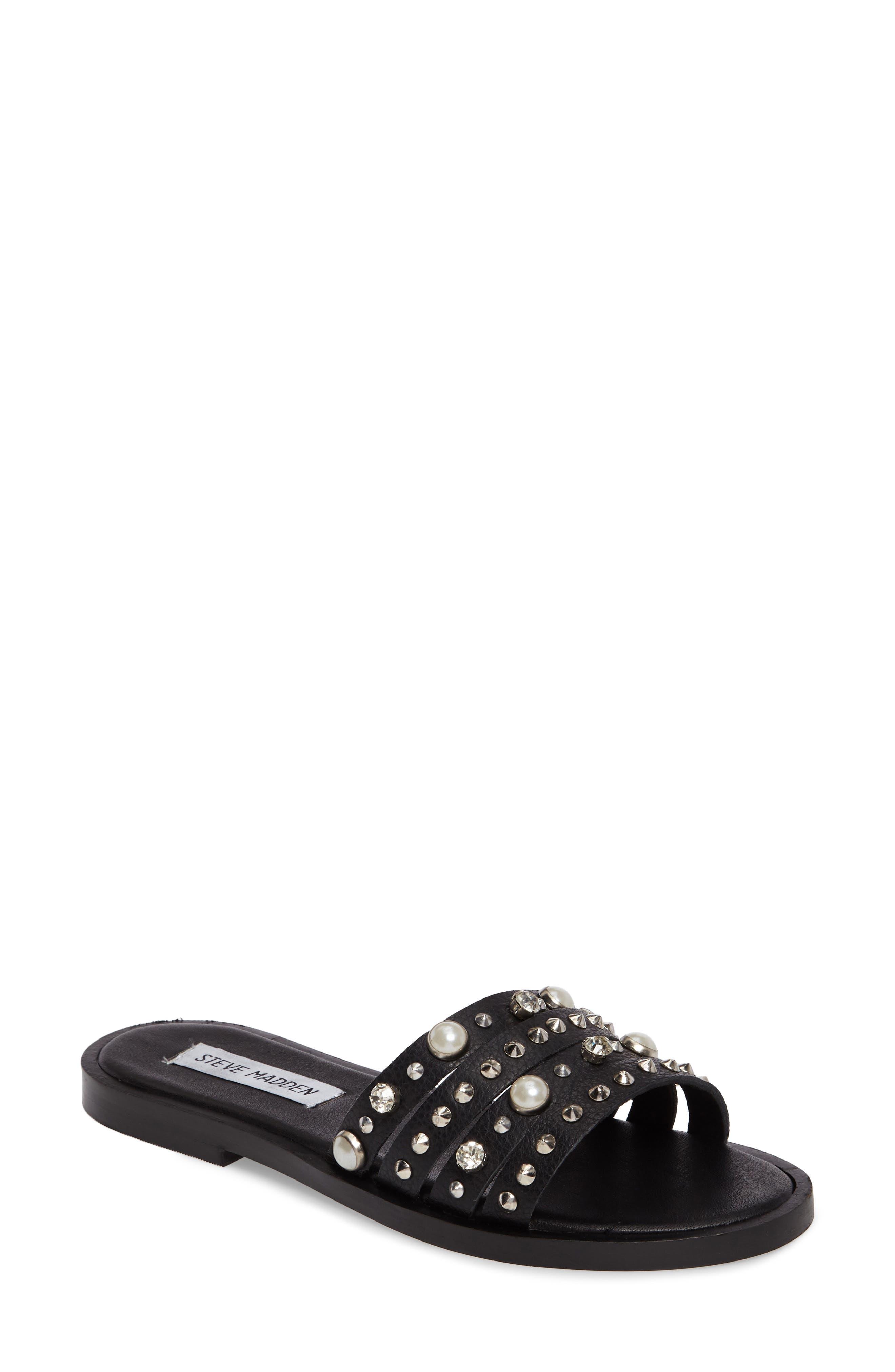 Alternate Image 1 Selected - Steve Madden Galaxy Slide Sandal (Women)