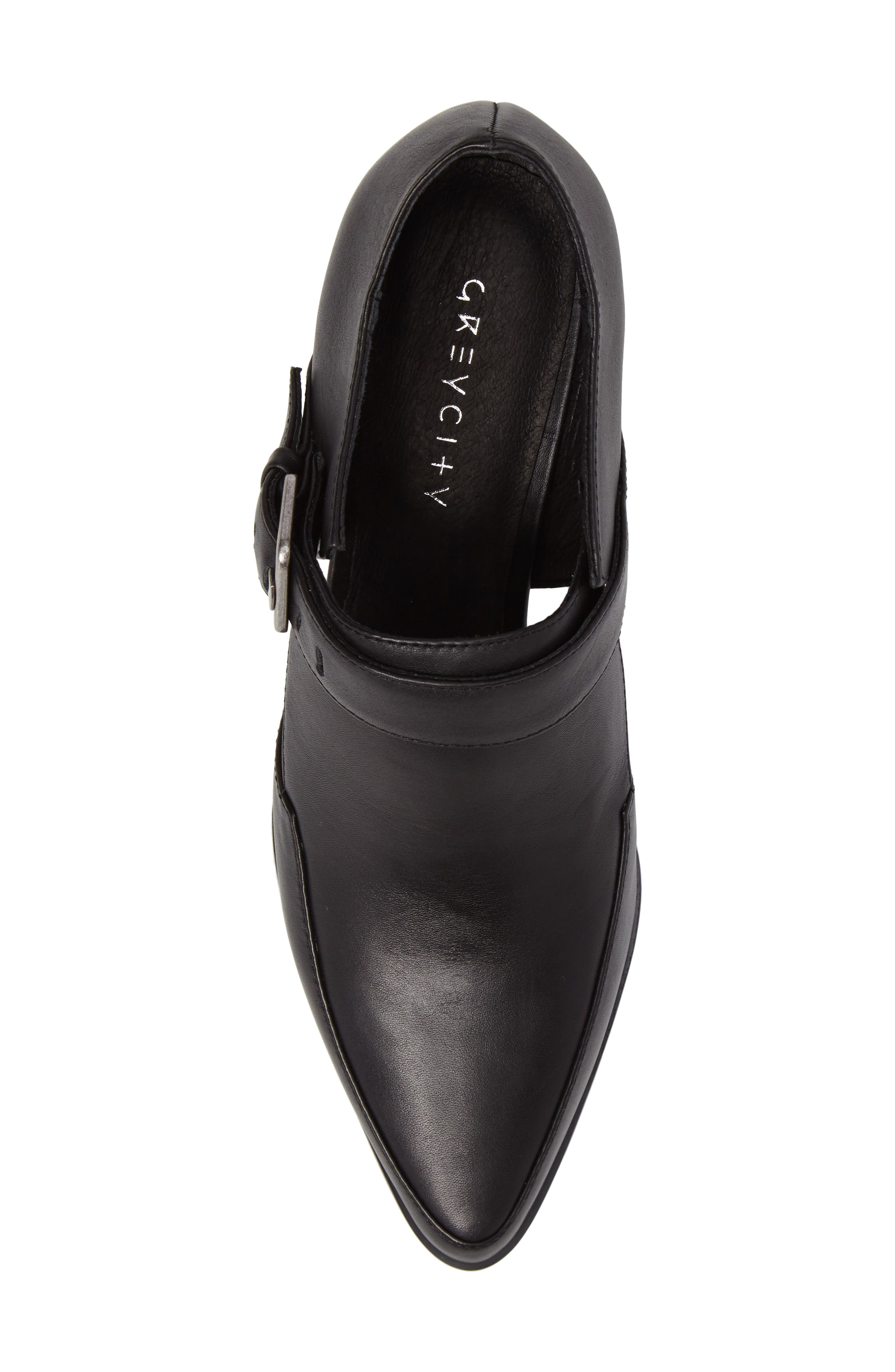 Alma Pointy-Toe Pump,                             Alternate thumbnail 5, color,                             Black