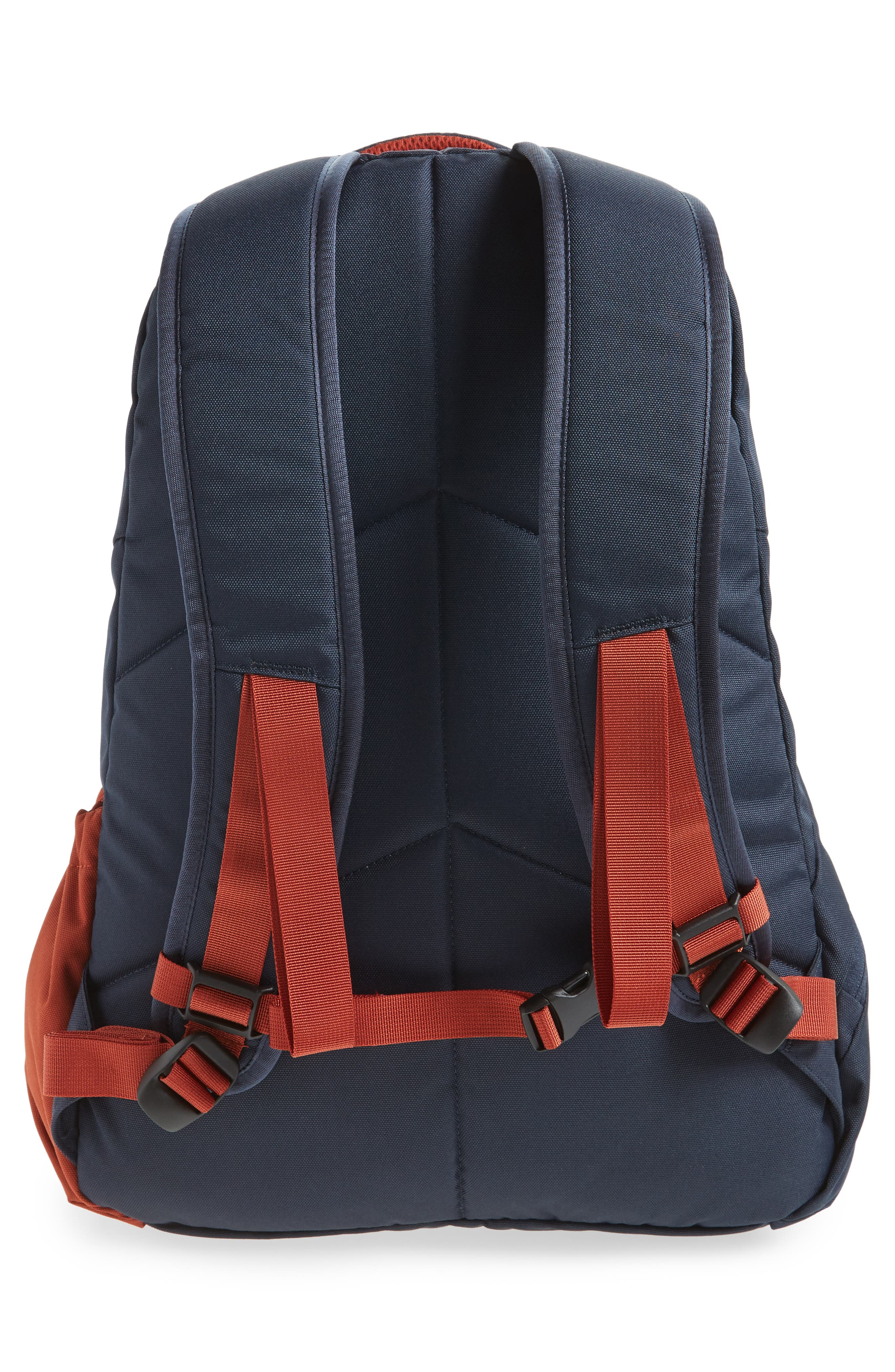 Rift Backpack,                             Alternate thumbnail 2, color,                             Navy/ Rust