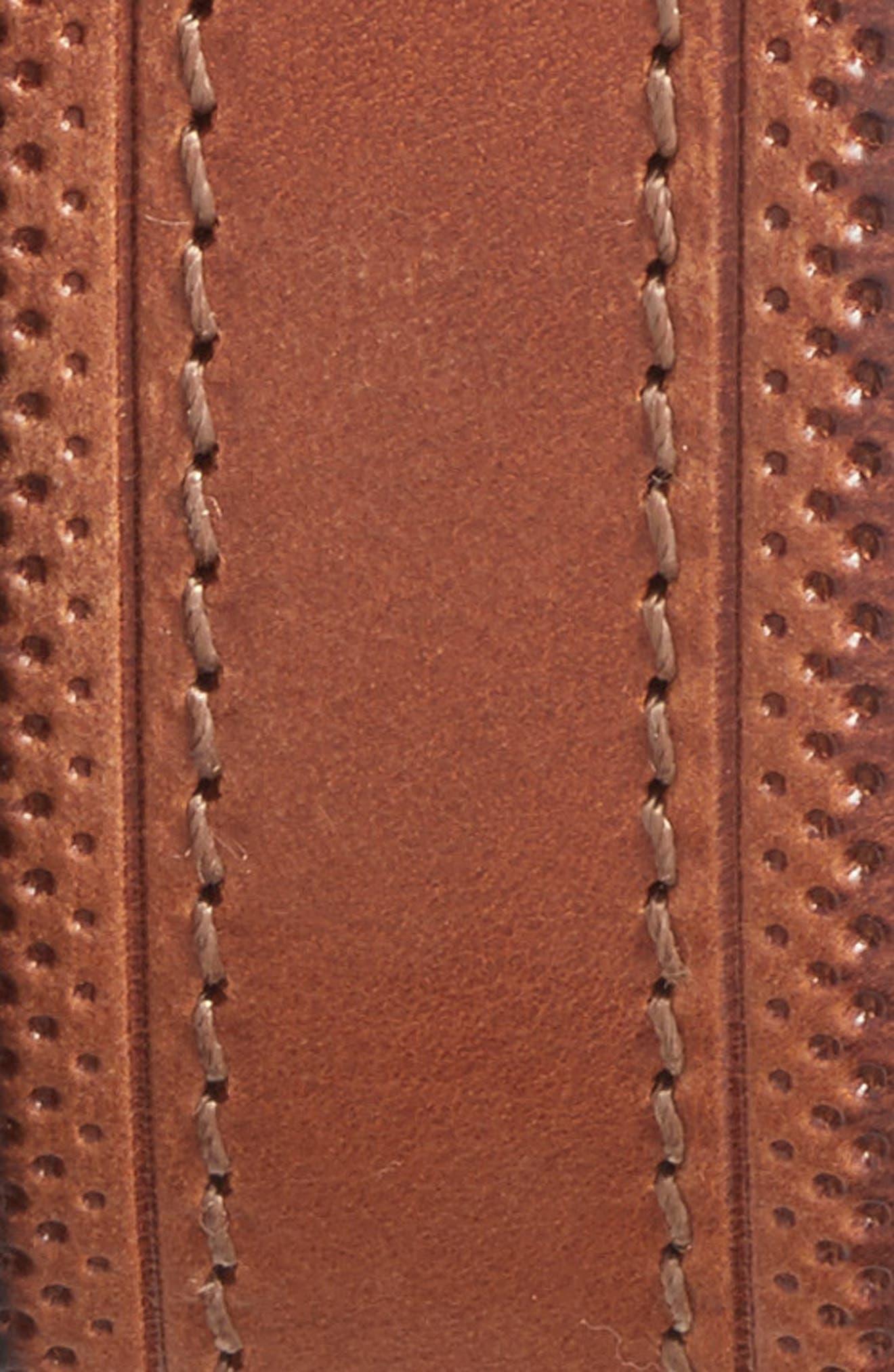 Alternate Image 2  - Martin Dingman Walton Leather Belt