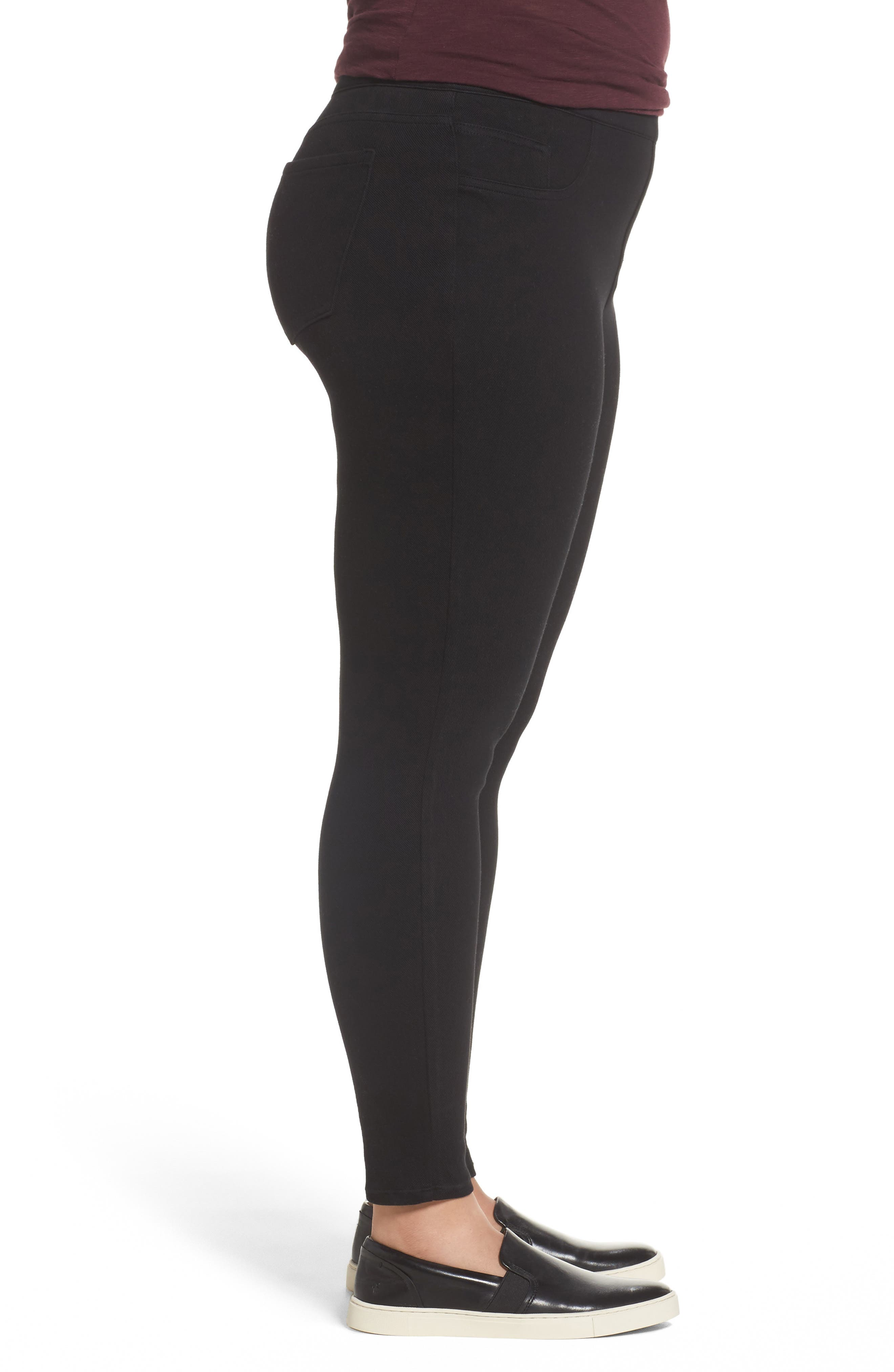 Alternate Image 3  - SPANX® Jean-ish Leggings (Plus Size)