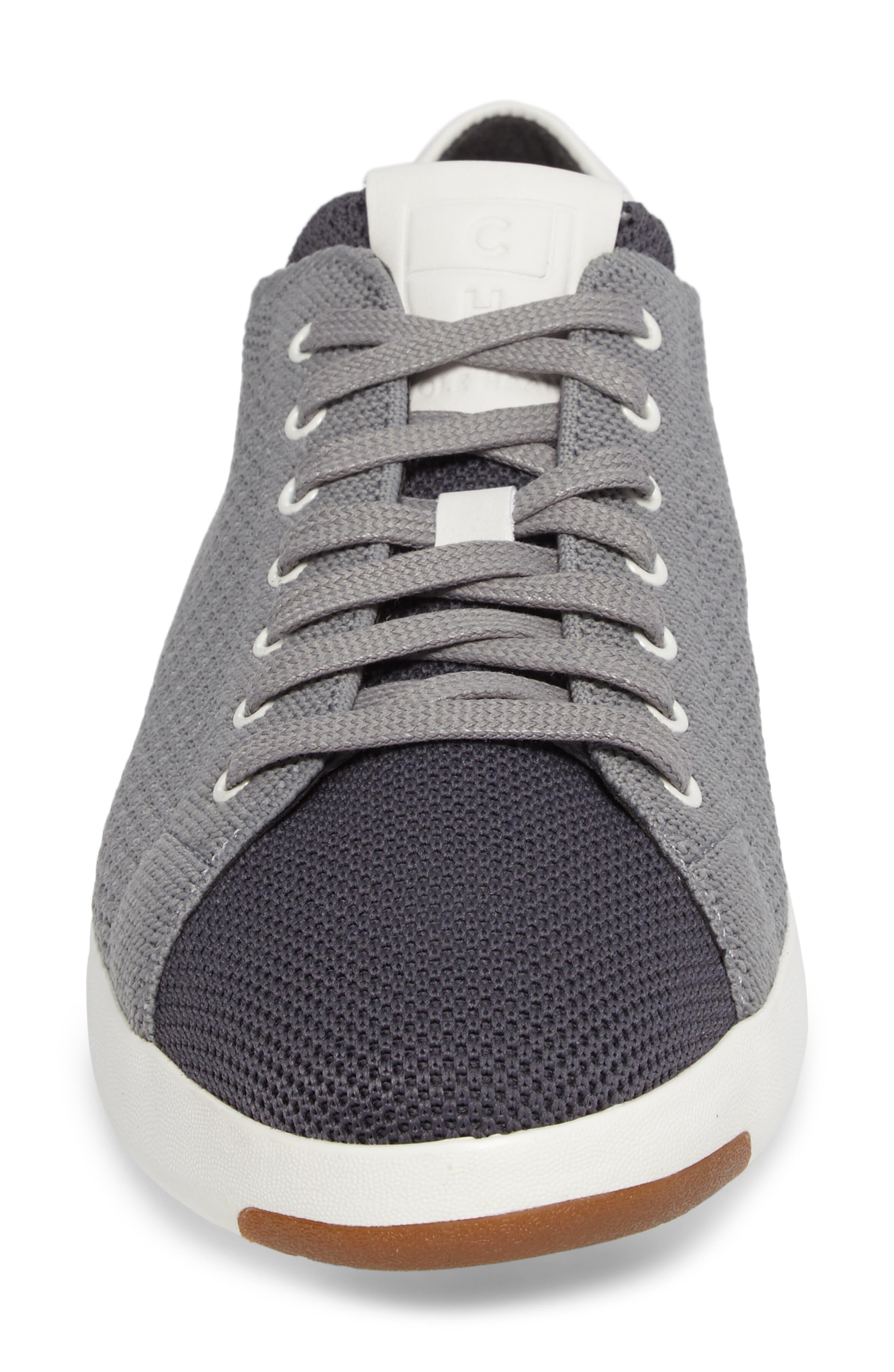 GrandPrø Stitchlite Tennis Sneaker,                             Alternate thumbnail 4, color,                             Magnet Grey Fabric