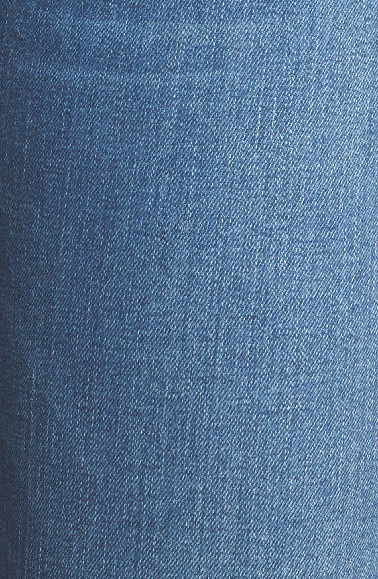 Tilda Cigarette Leg Jeans,                             Alternate thumbnail 5, color,                             Blue Riot