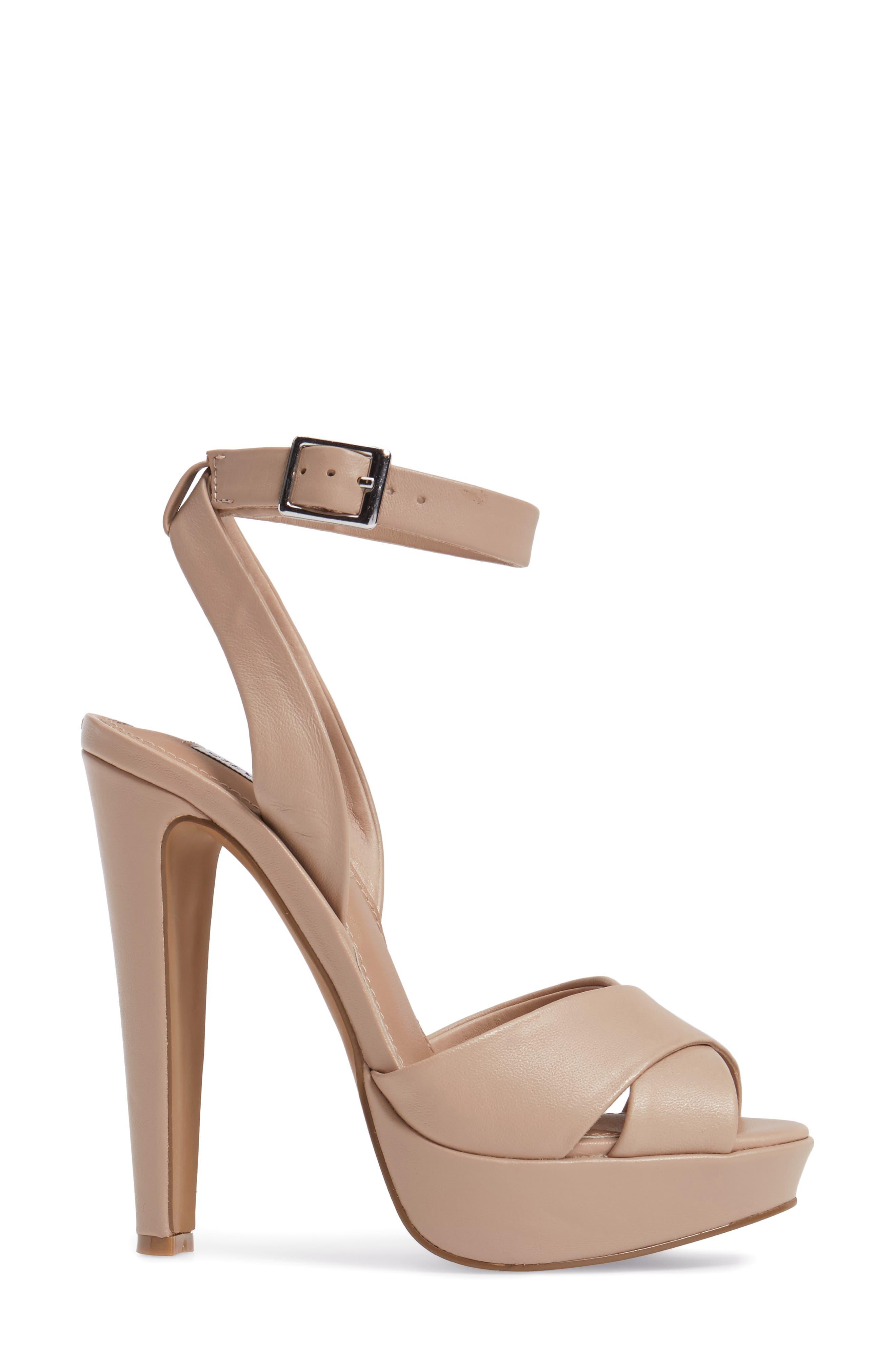 Alternate Image 3  - Steve Madden Andrea Cross Strap Platform Sandal (Women)