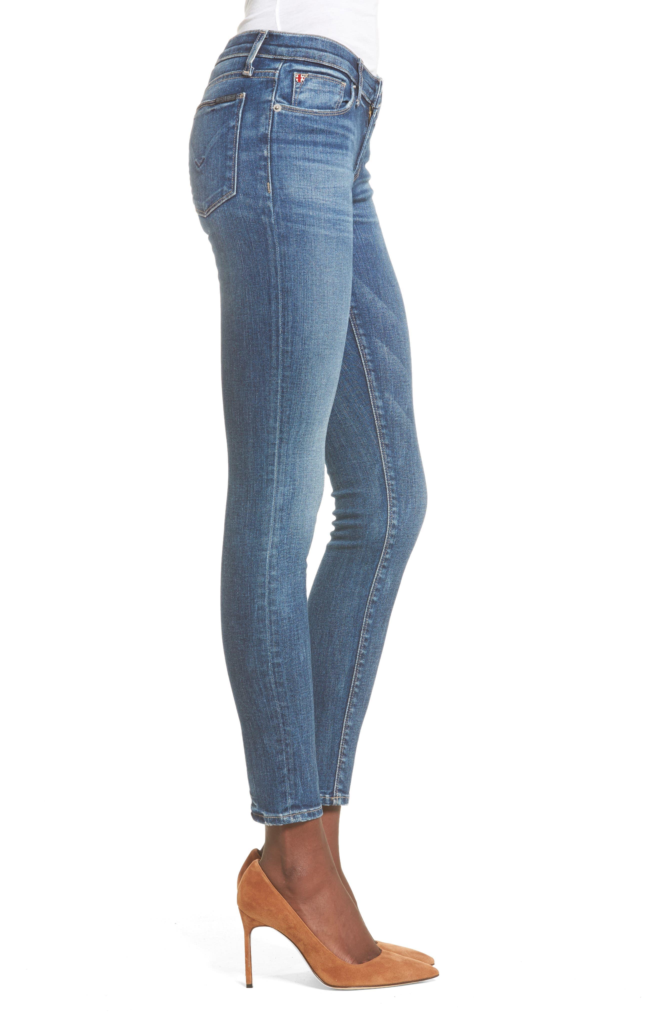 Alternate Image 3  - Hudson Jeans 'Krista' Super Skinny Jeans (Solo)