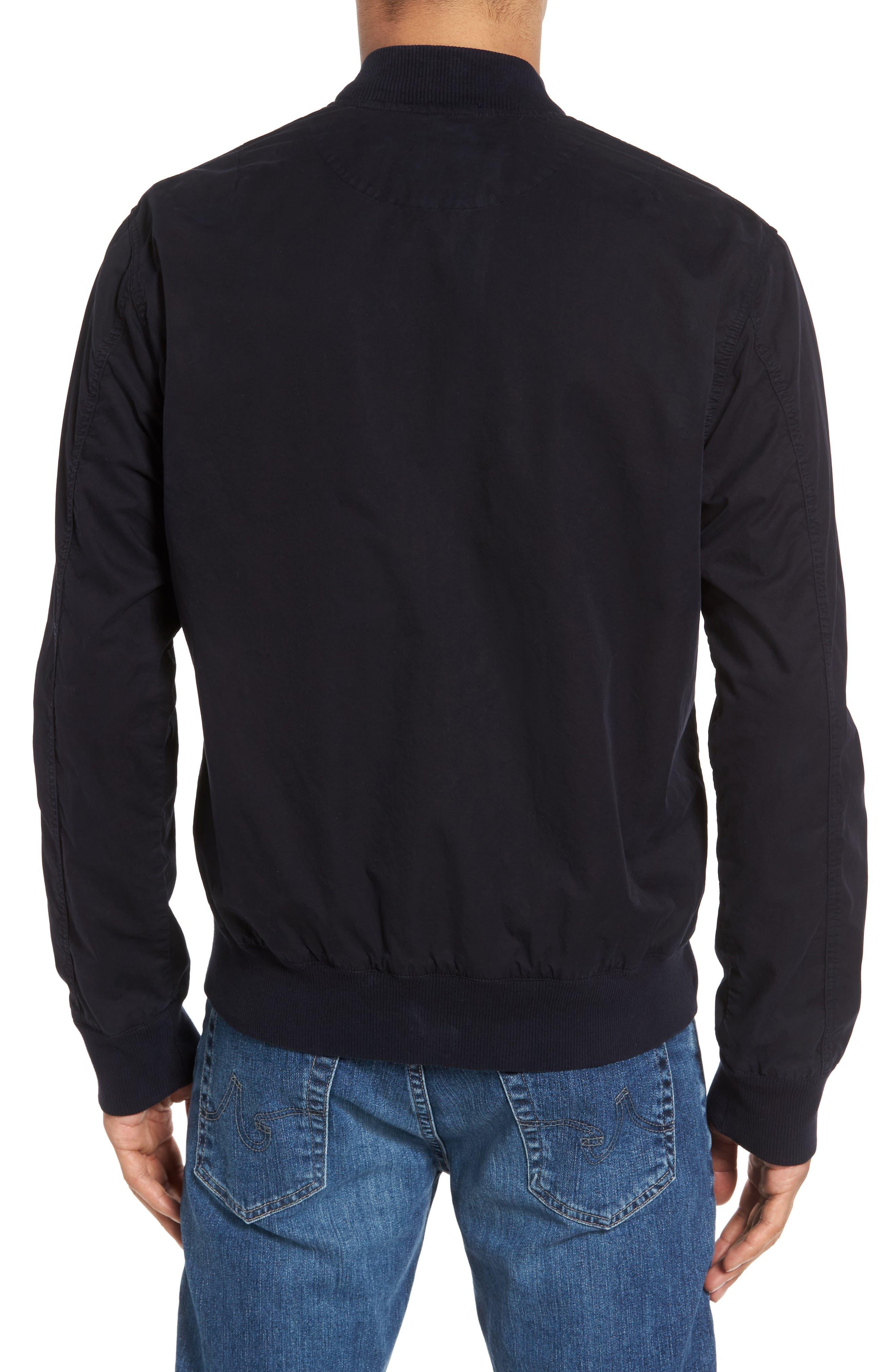 Alternate Image 2  - James Perse Cotton Bomber Jacket