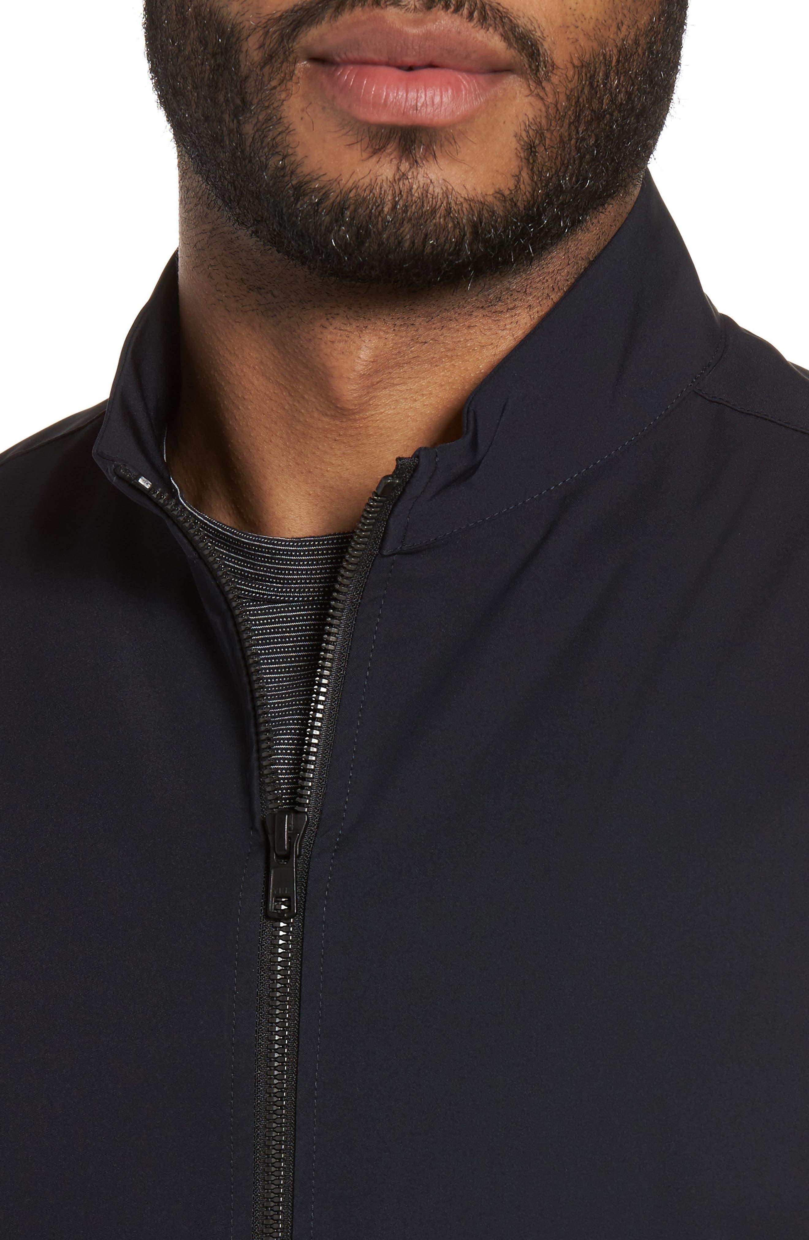 Scotty Bevan Zip Front Jacket,                             Alternate thumbnail 4, color,                             Eclipse