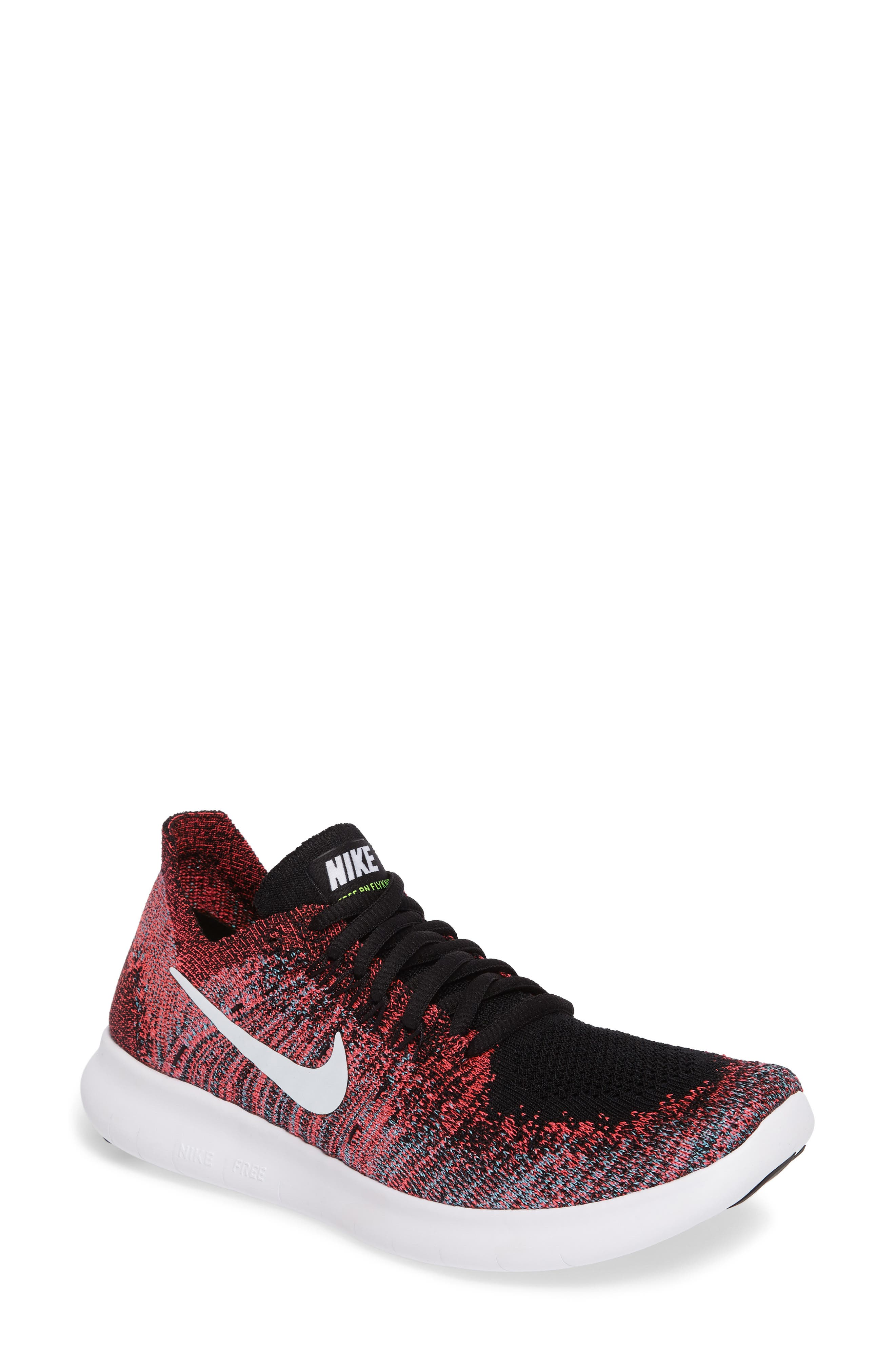 Nike Free Run Flyknit 2 Running Shoe (Women)