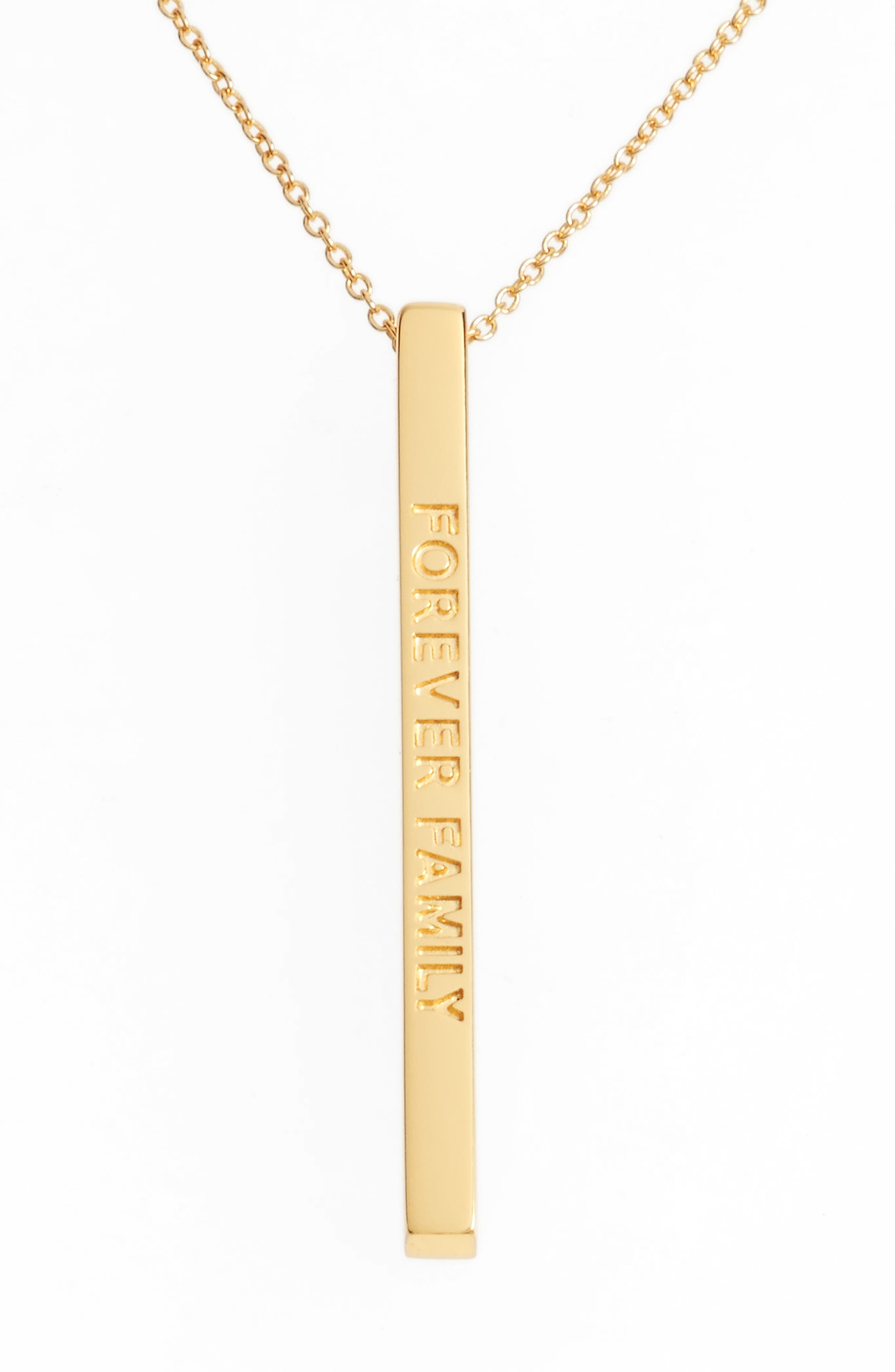 Alternate Image 1 Selected - MantraBand® Forever Family Pendant Necklace