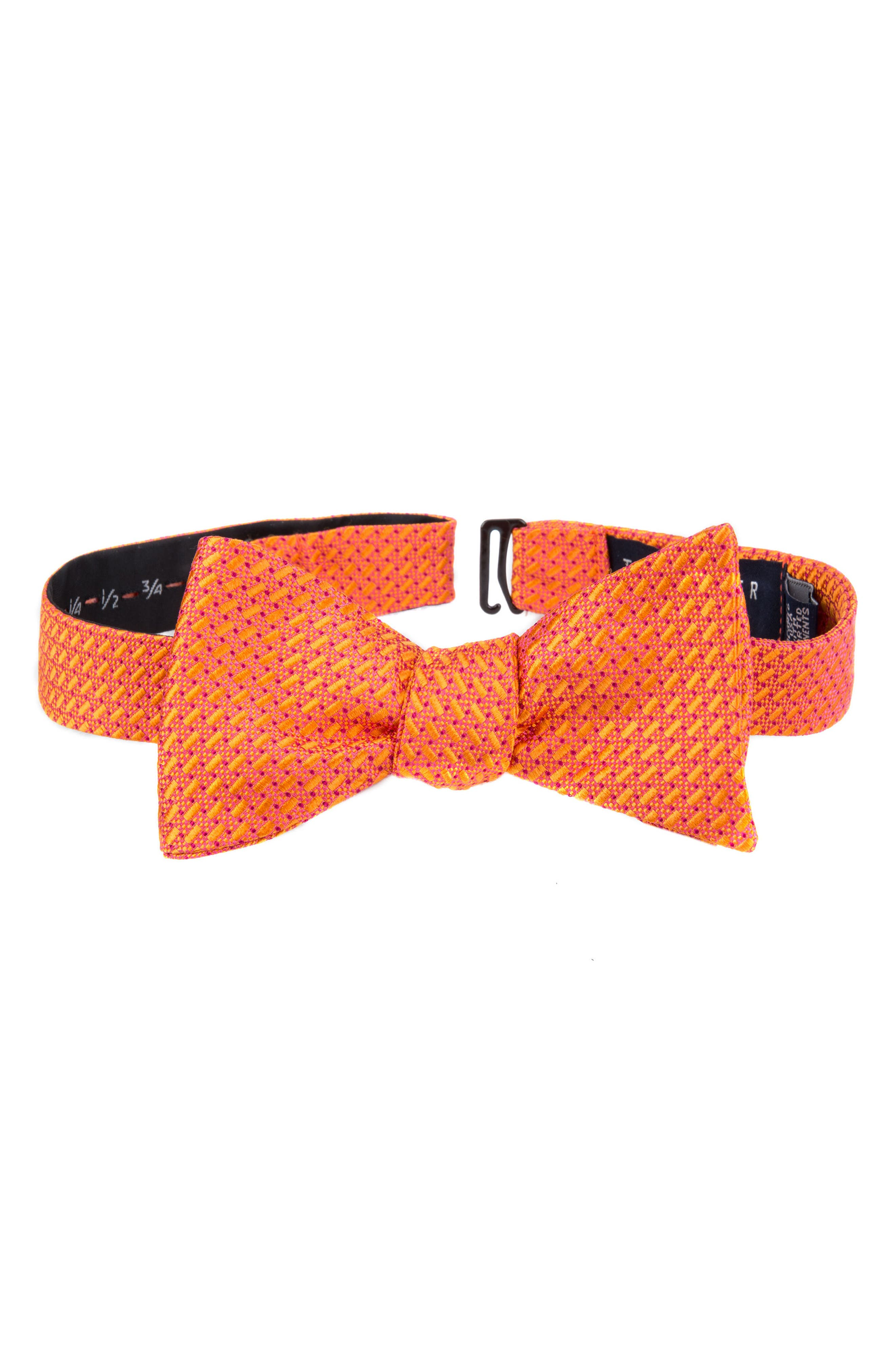 TED BAKER LONDON Professional Solid Silk Bow Tie