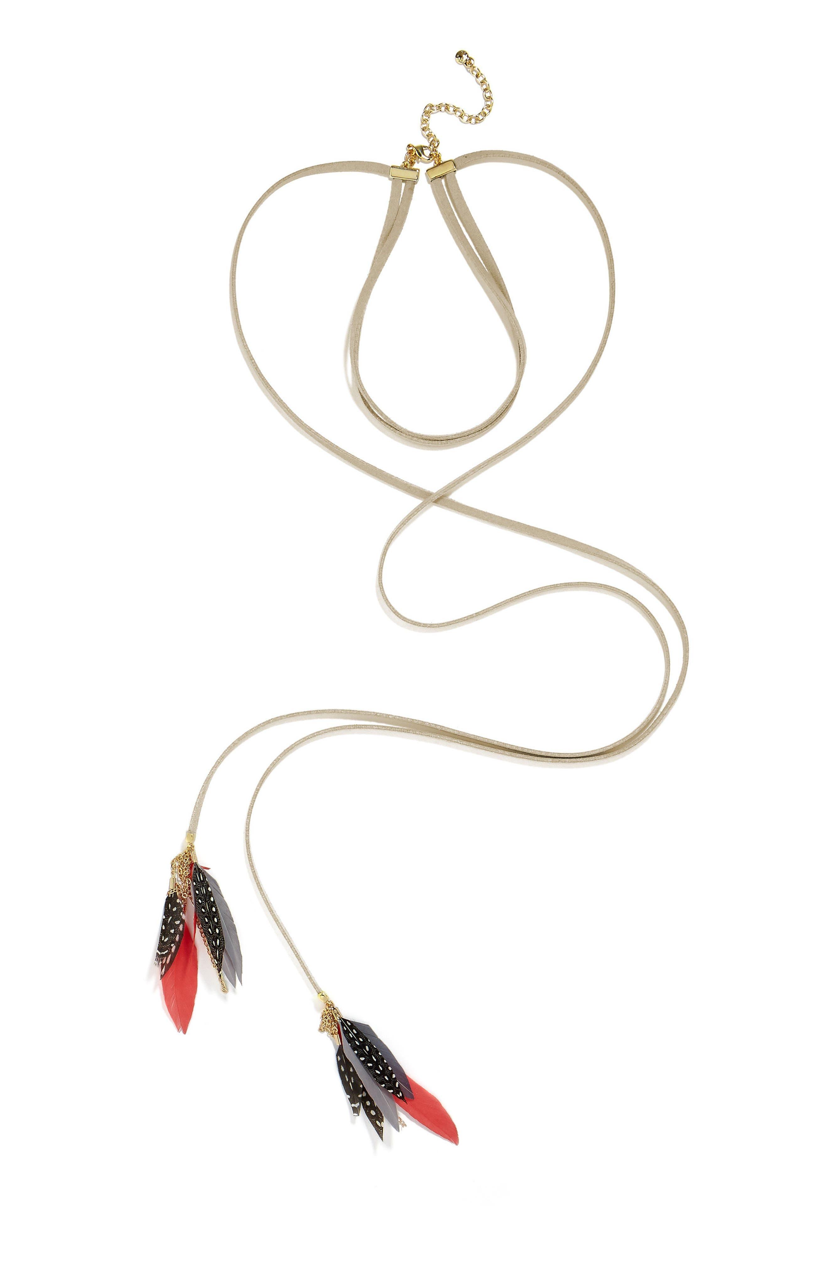 Baublebar Ravyn Lariat Choker Necklace