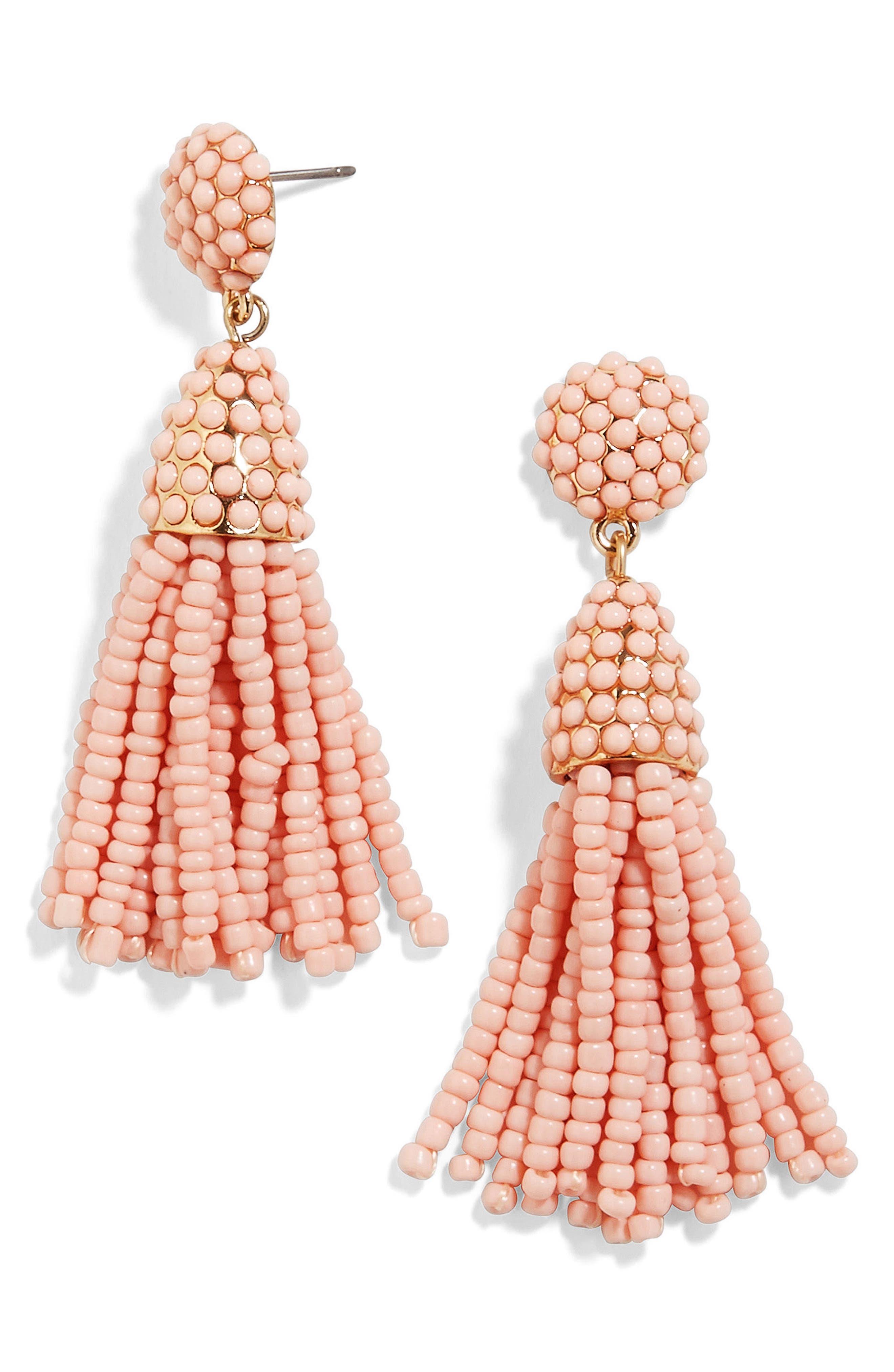 BaubleBar Mini Pinata Tassel Drop Earrings