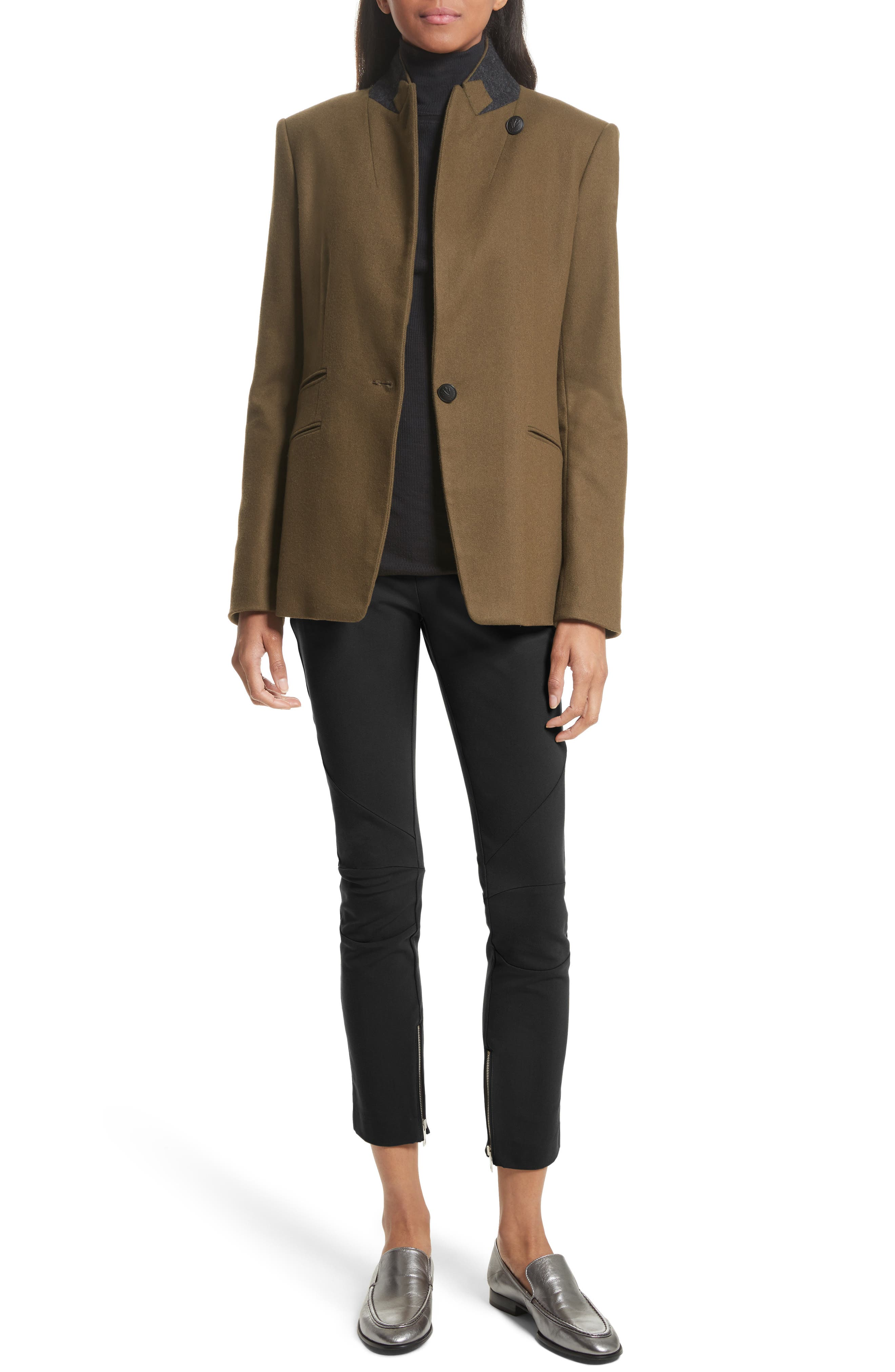 Alternate Image 2  - rag & bone Duke Wool Blend Blazer