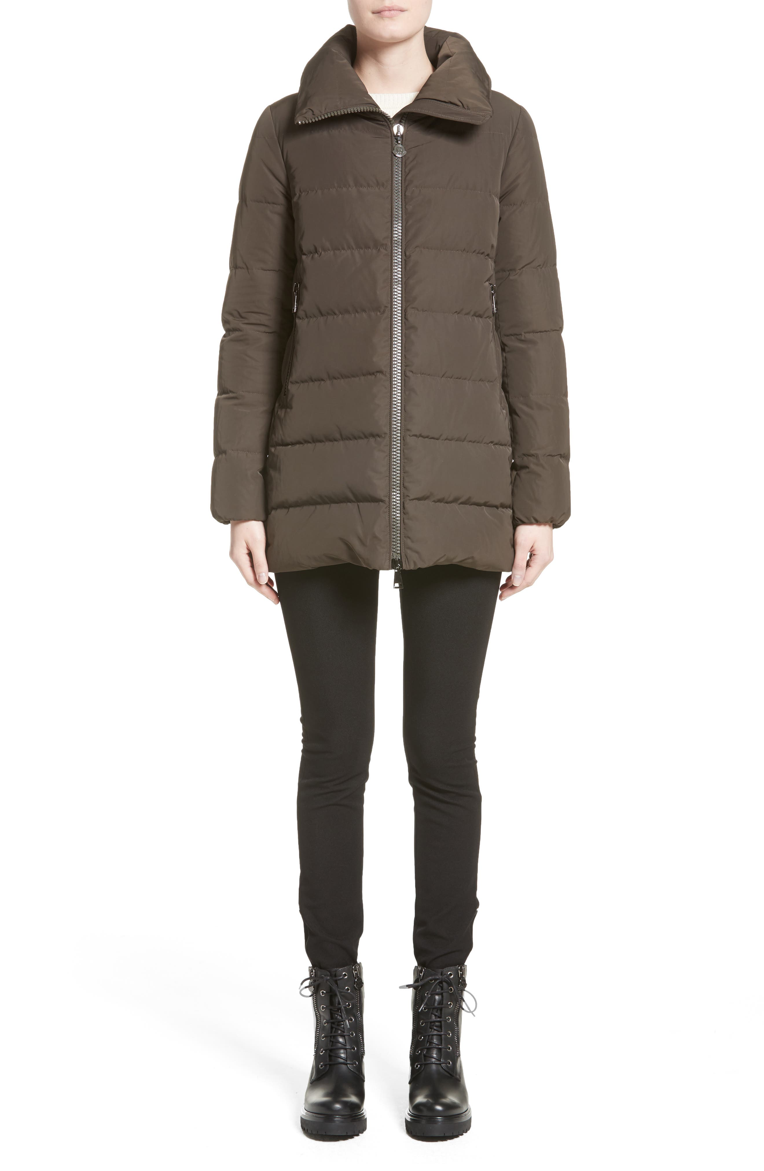 Alternate Image 7  - Moncler Petrea Quilted Down Puffer Jacket