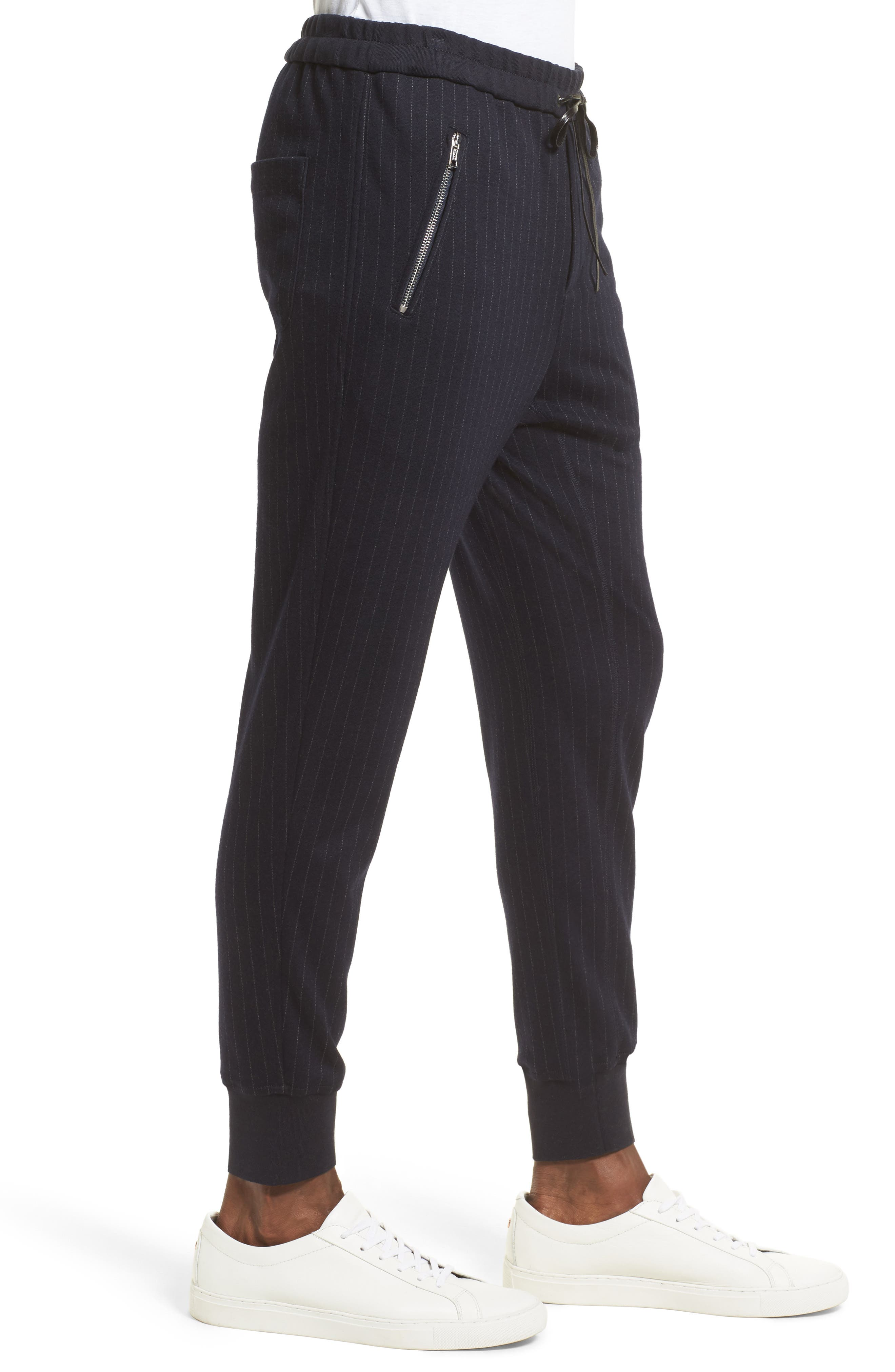 Alternate Image 3  - 3.1 Phillip Lim Pinstripe Tapered Jogger Pants