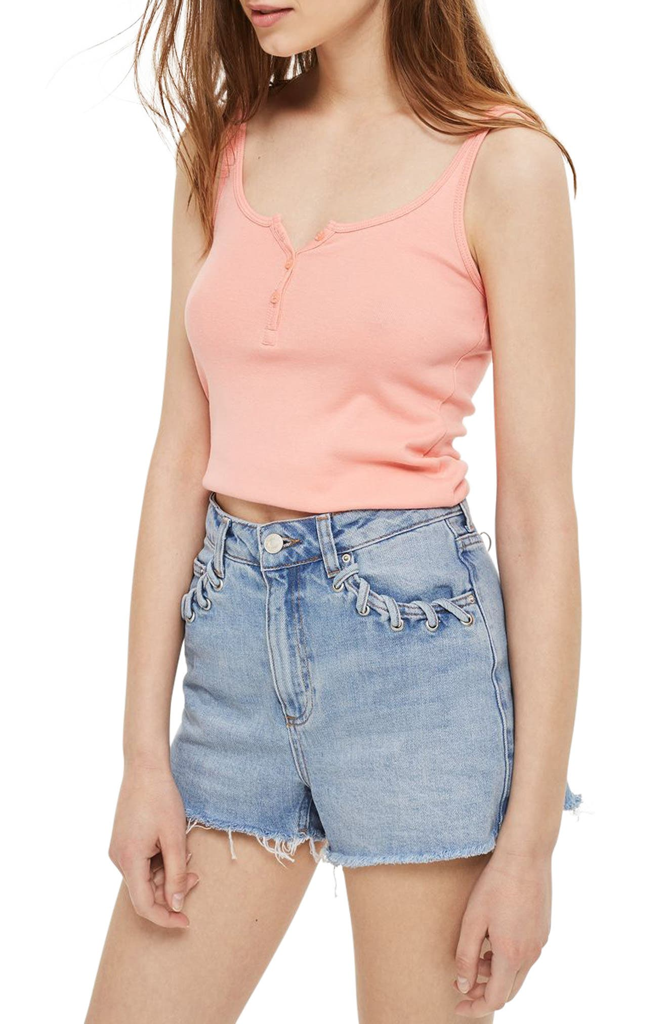 Topshop Henley Tank (2 for $18)