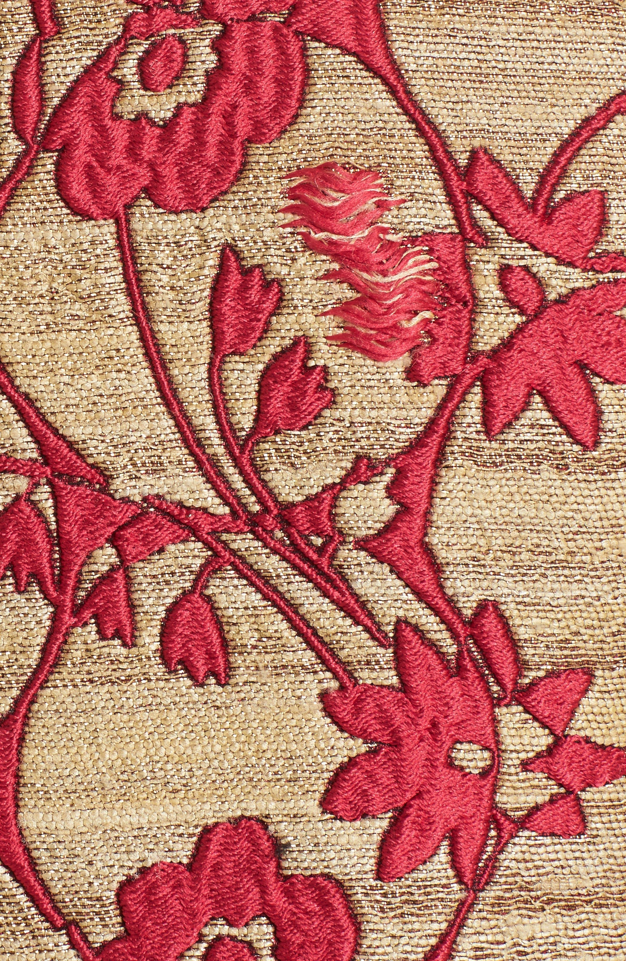 Alternate Image 3  - Valentino Flower Circles Jacquard Coat