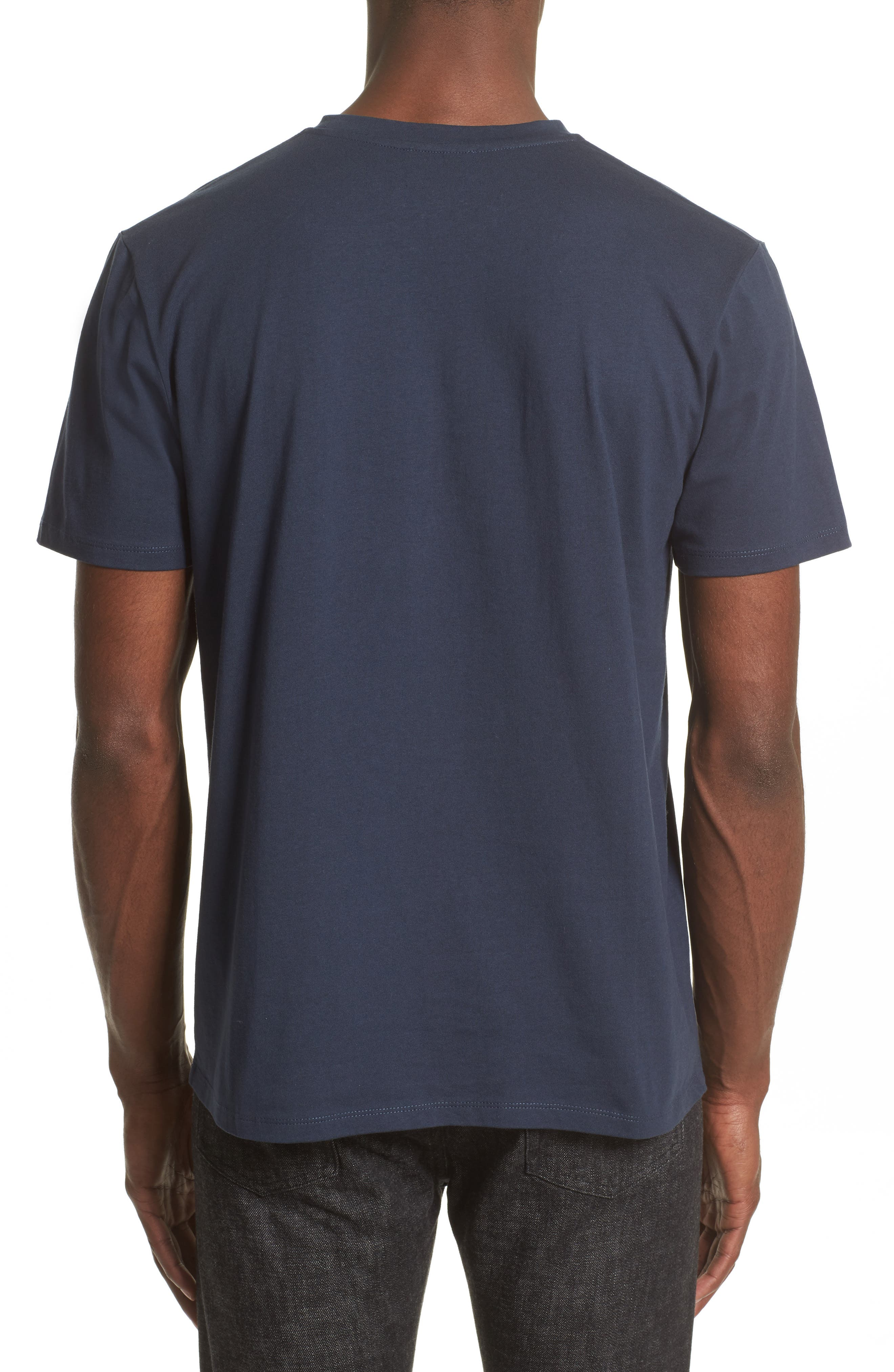 Logo T-Shirt,                             Alternate thumbnail 2, color,                             Dark Navy