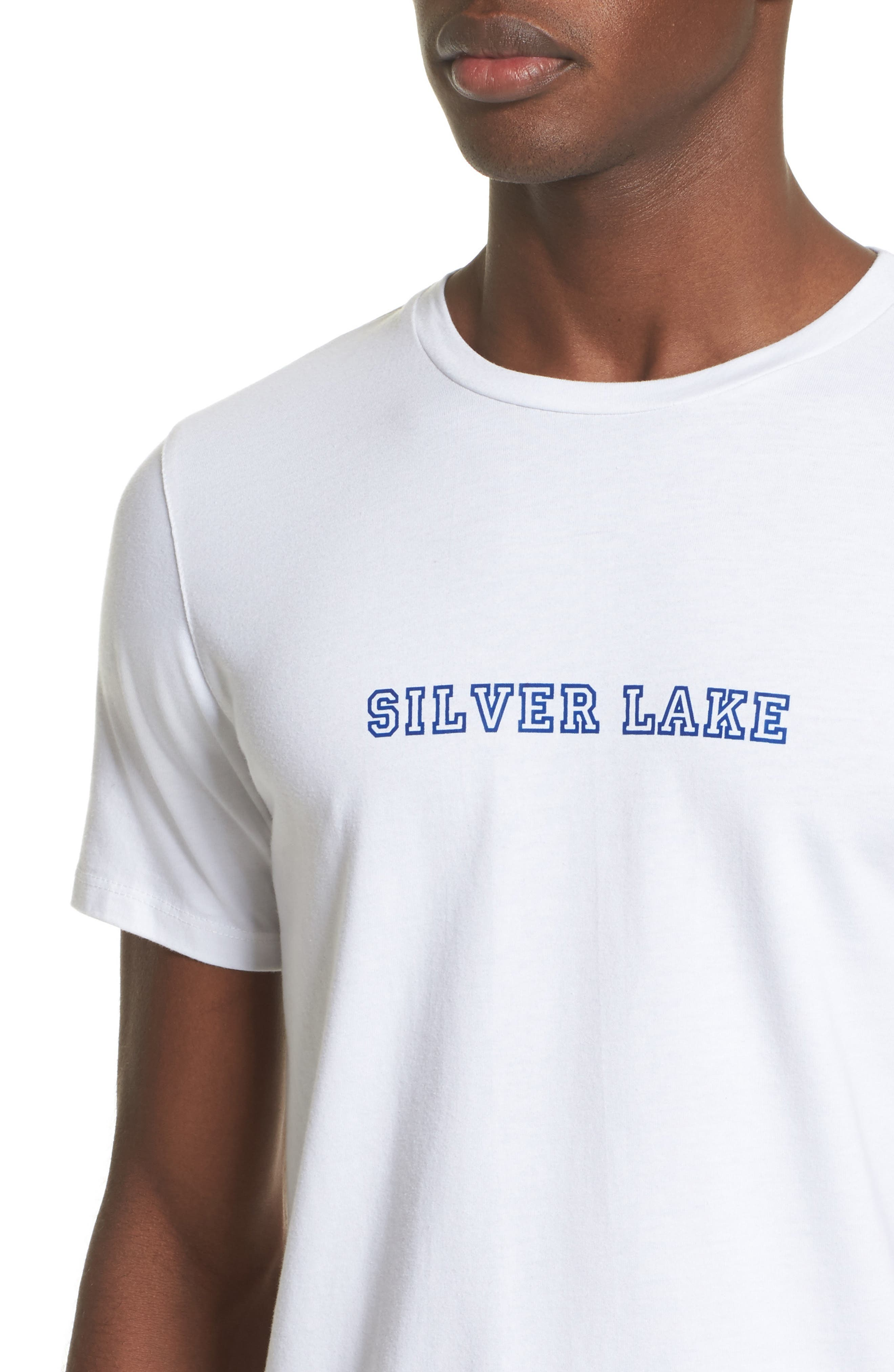 Alternate Image 4  - A.P.C. Silver Lake T-Shirt
